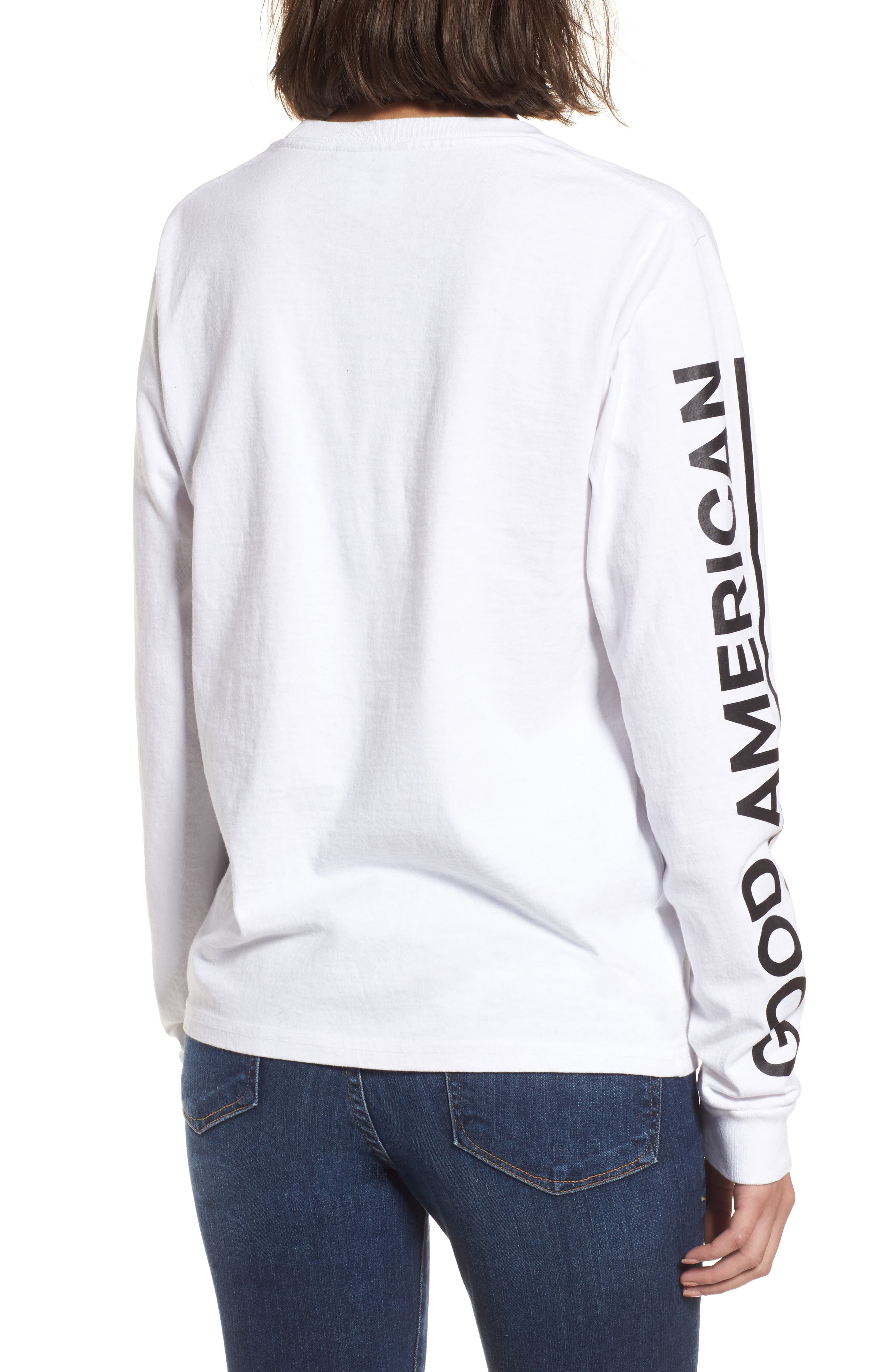 Goodies Long Sleeve Graphic Tee,                             Alternate thumbnail 2, color,
