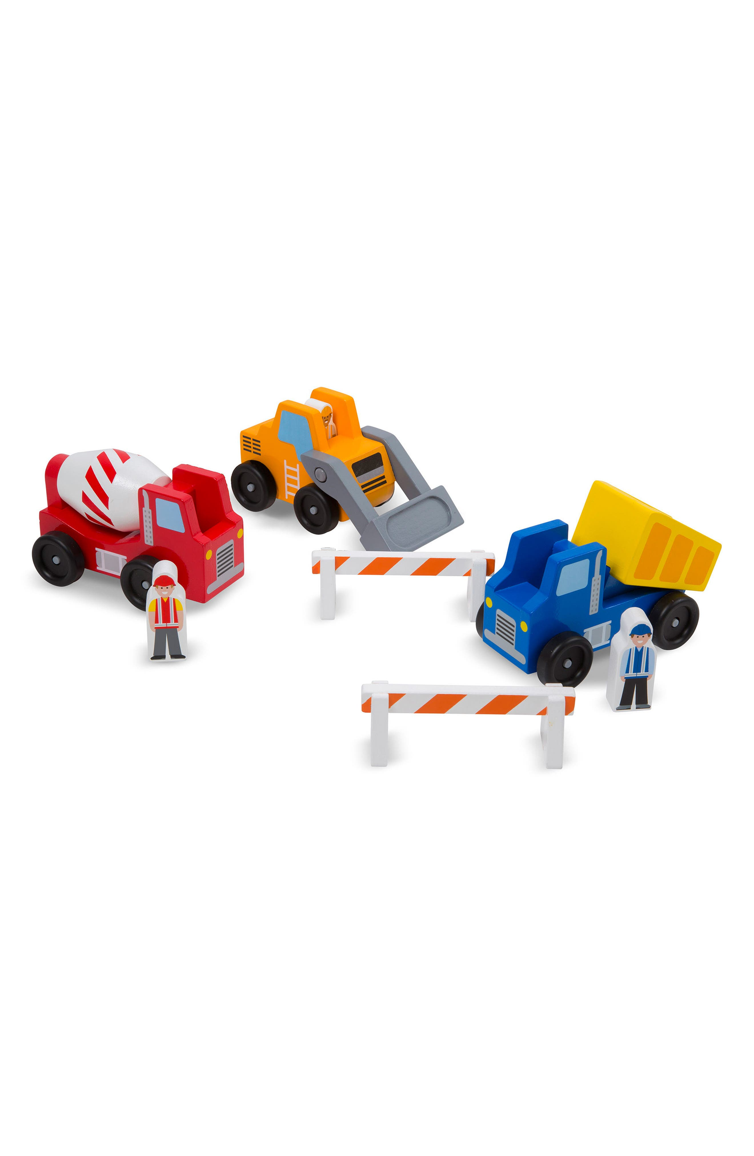 Toddler Boys Melissa  Doug Construction Vehicle Set