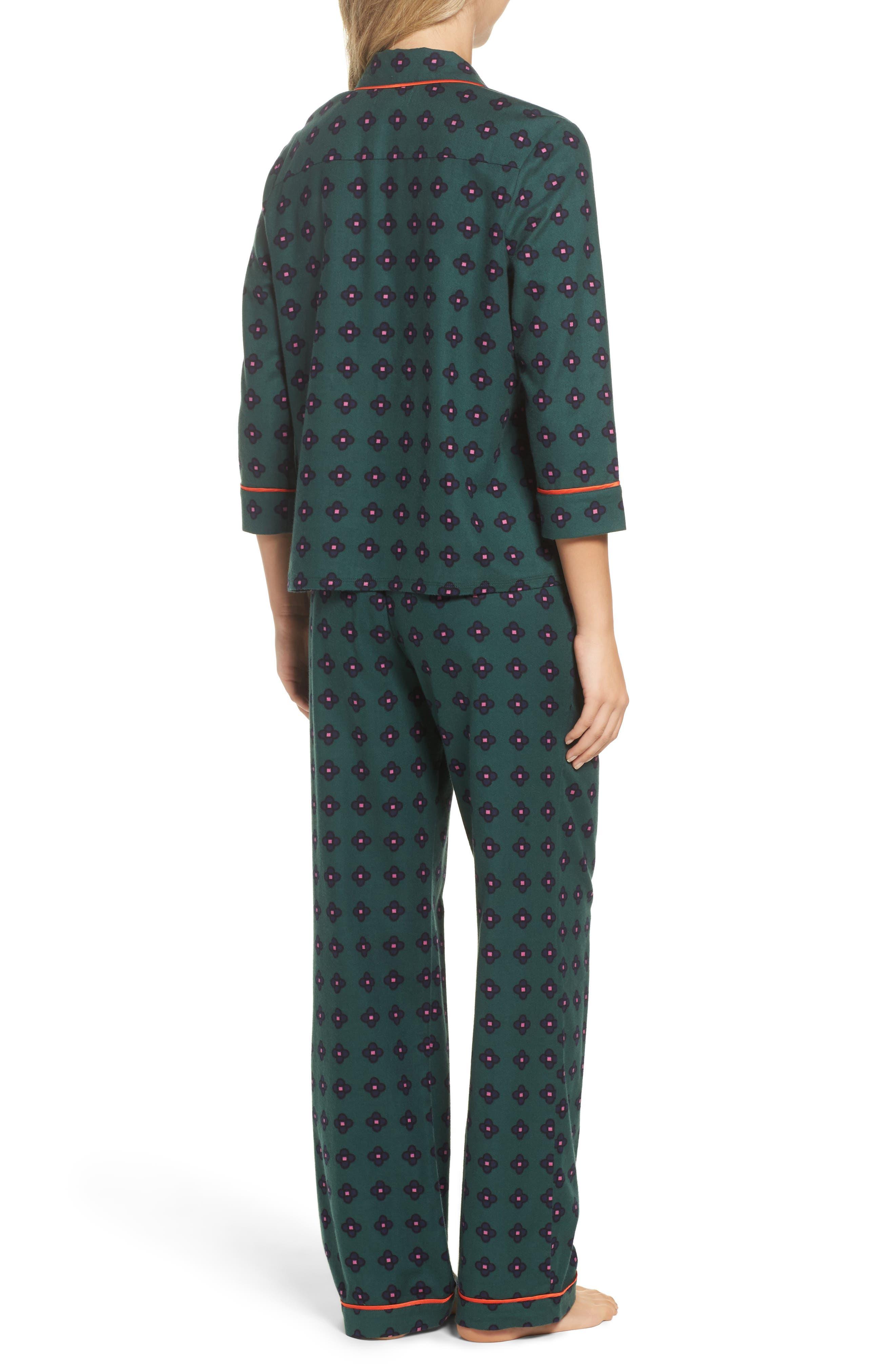 Flannel Pajamas,                             Alternate thumbnail 5, color,