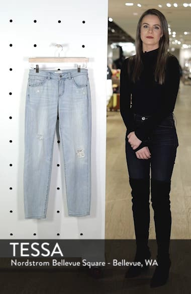 Distressed Boyfriend Jeans, sales video thumbnail