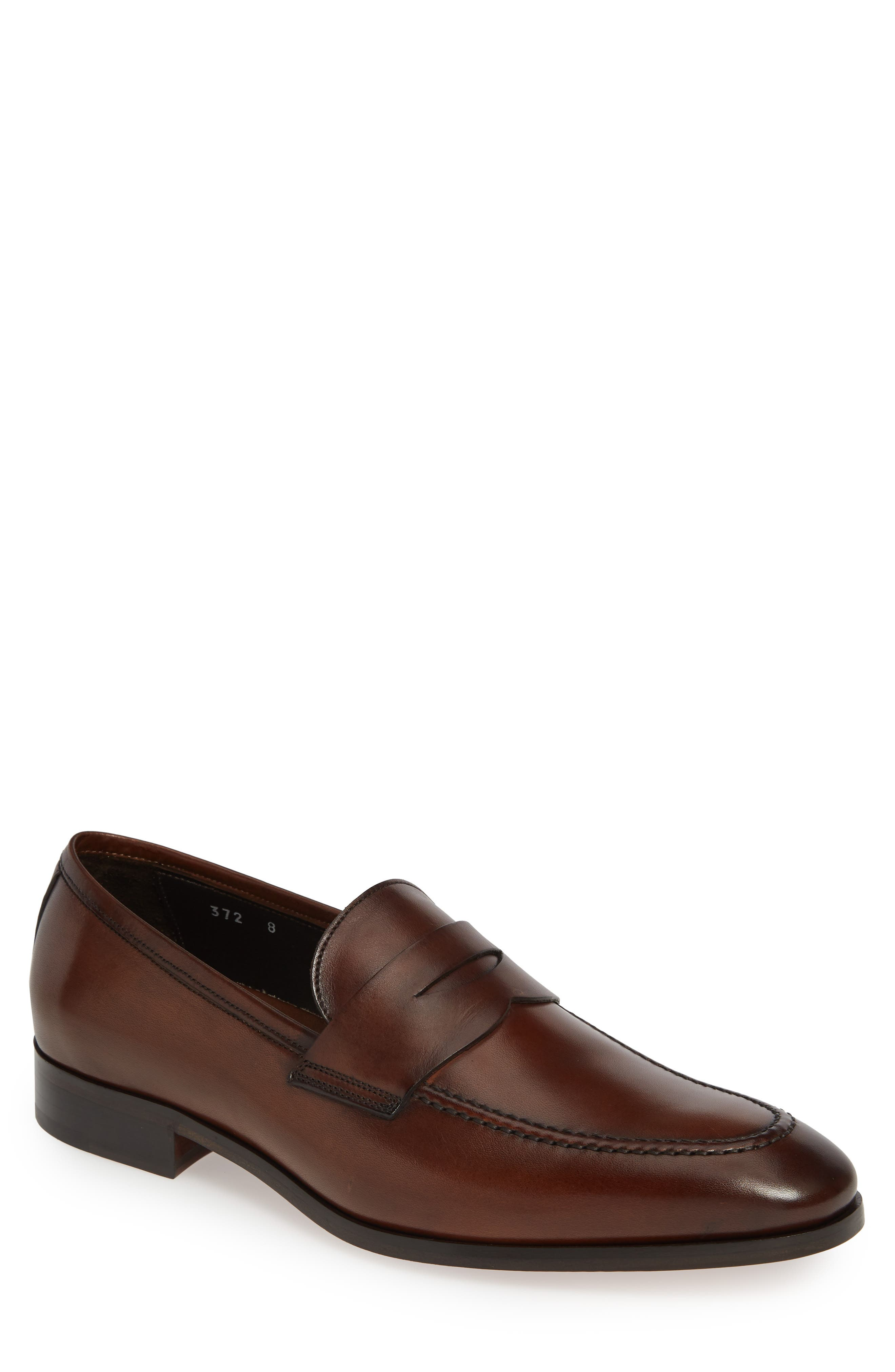 To Boot New York Buono Penny Loafer- Brown