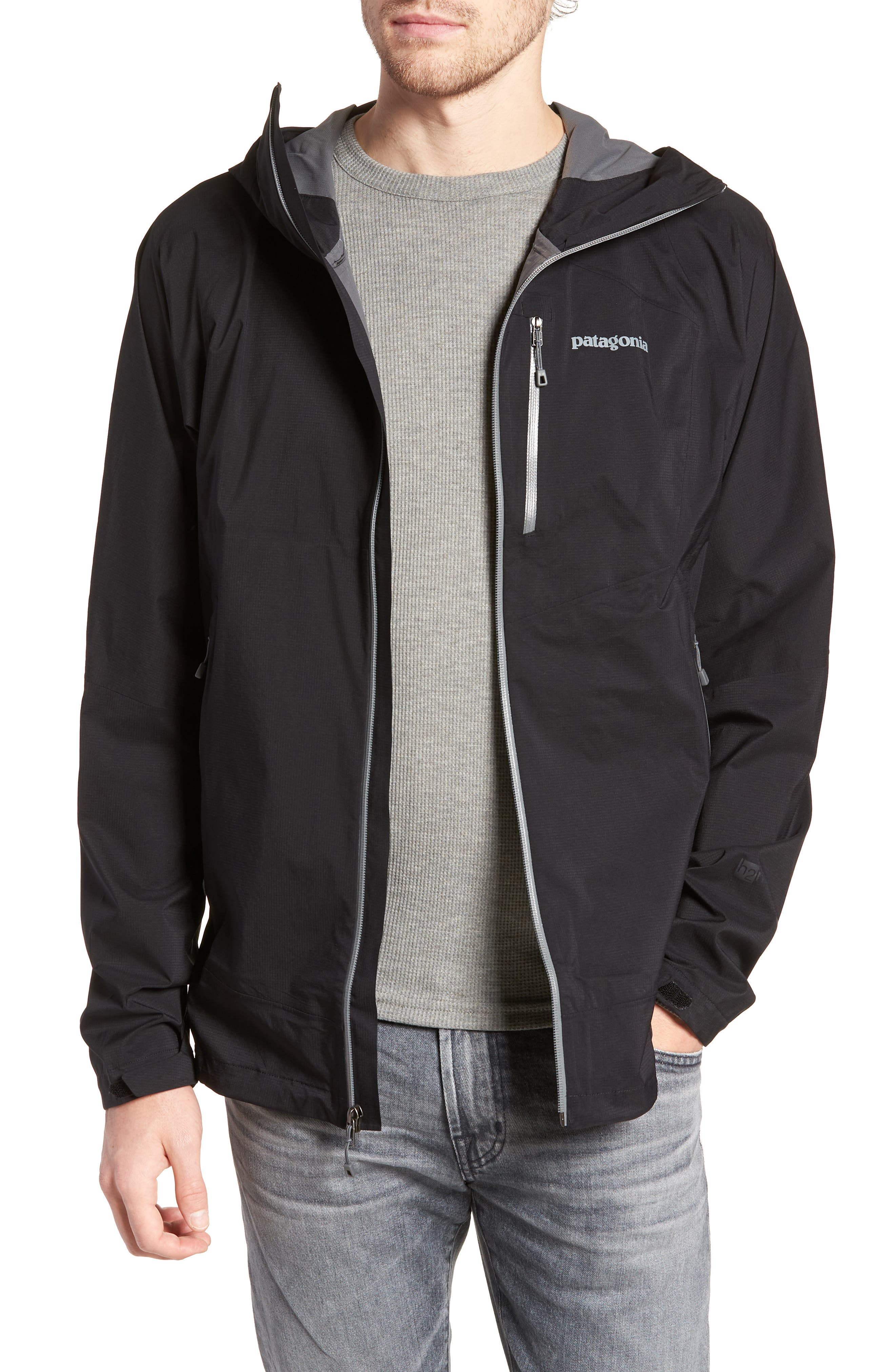PATAGONIA Stretch Rainshadow Jacket, Main, color, 001