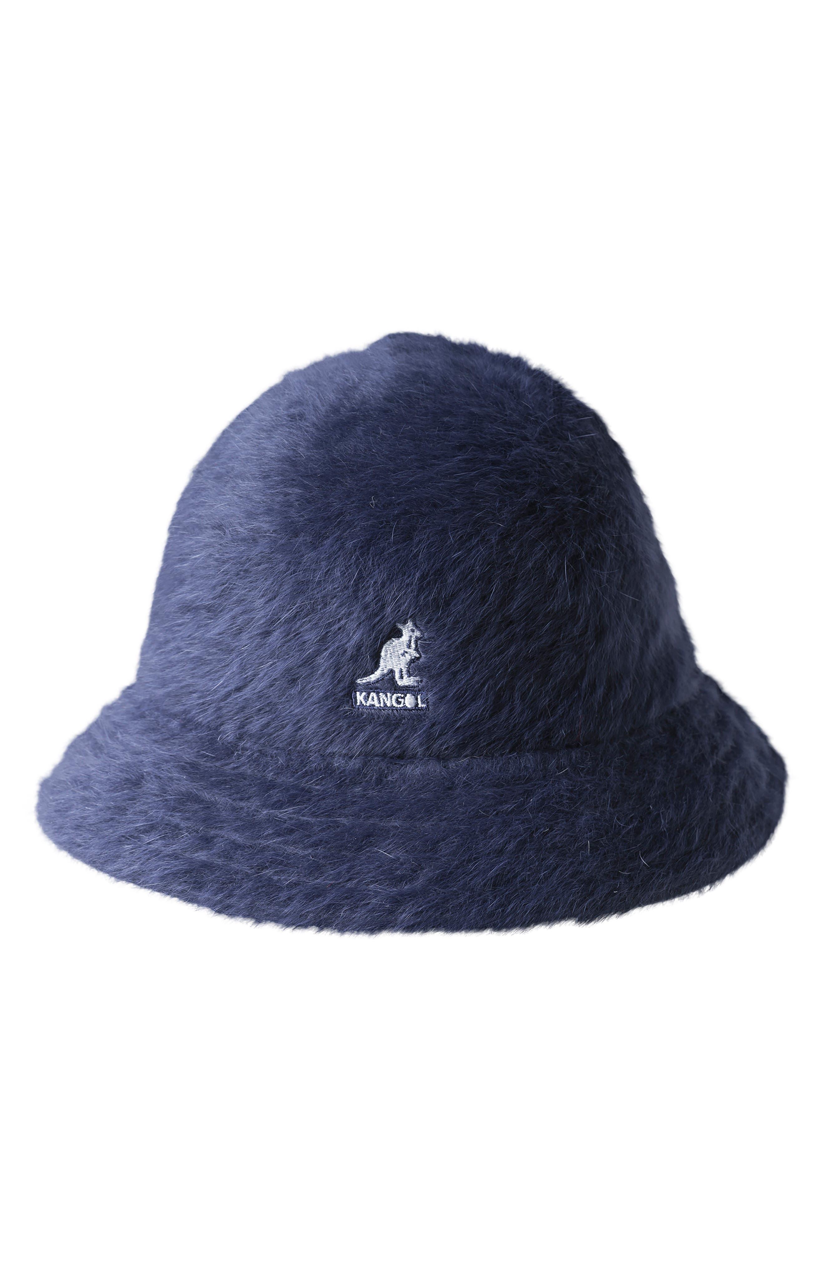 bb4d820394fe Shop kangol furgora casual bucket hat blue in navy jpg 780x1196 80s bucket  hats