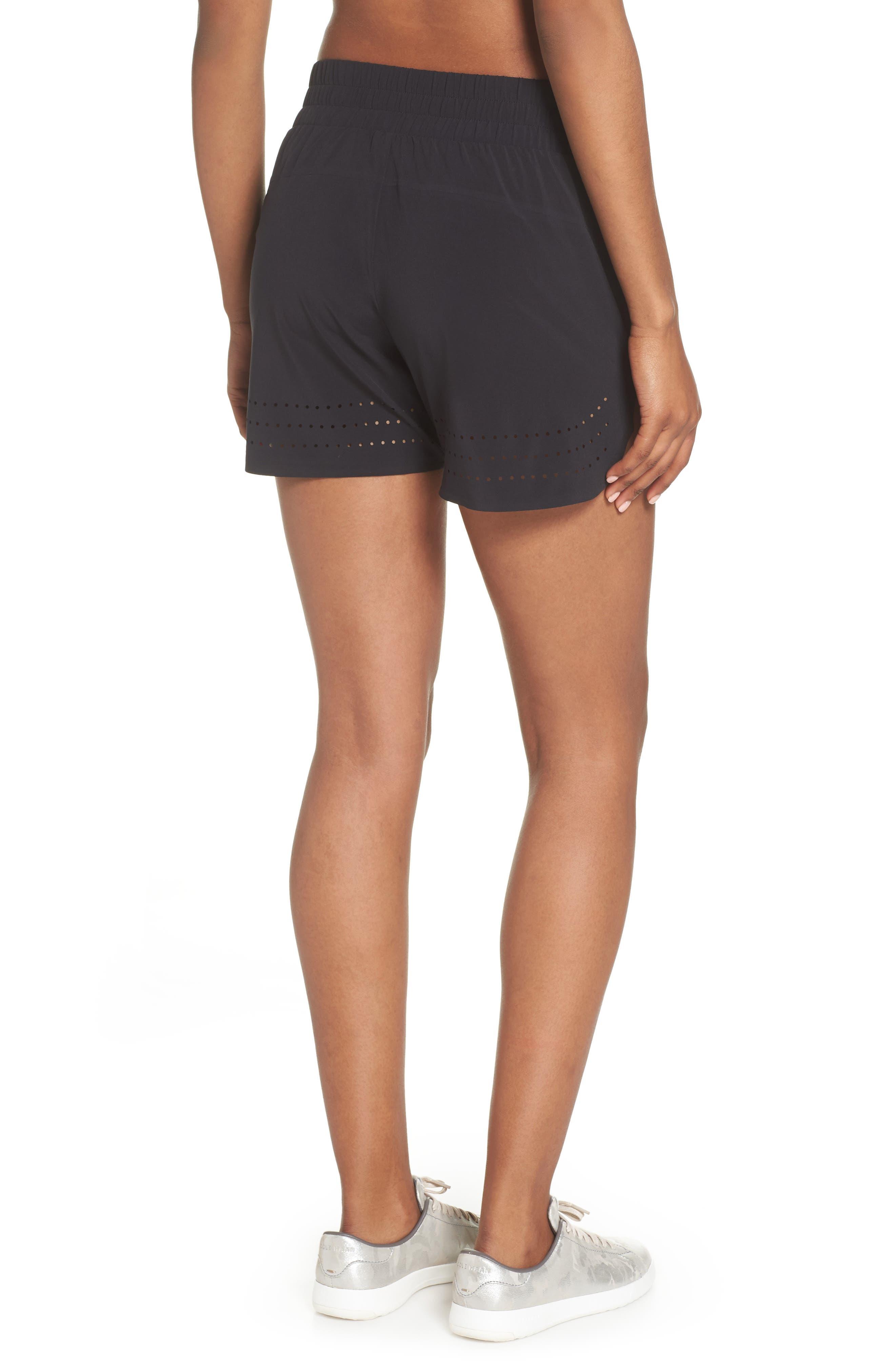 Hoop Shorts,                             Alternate thumbnail 2, color,                             BLACK