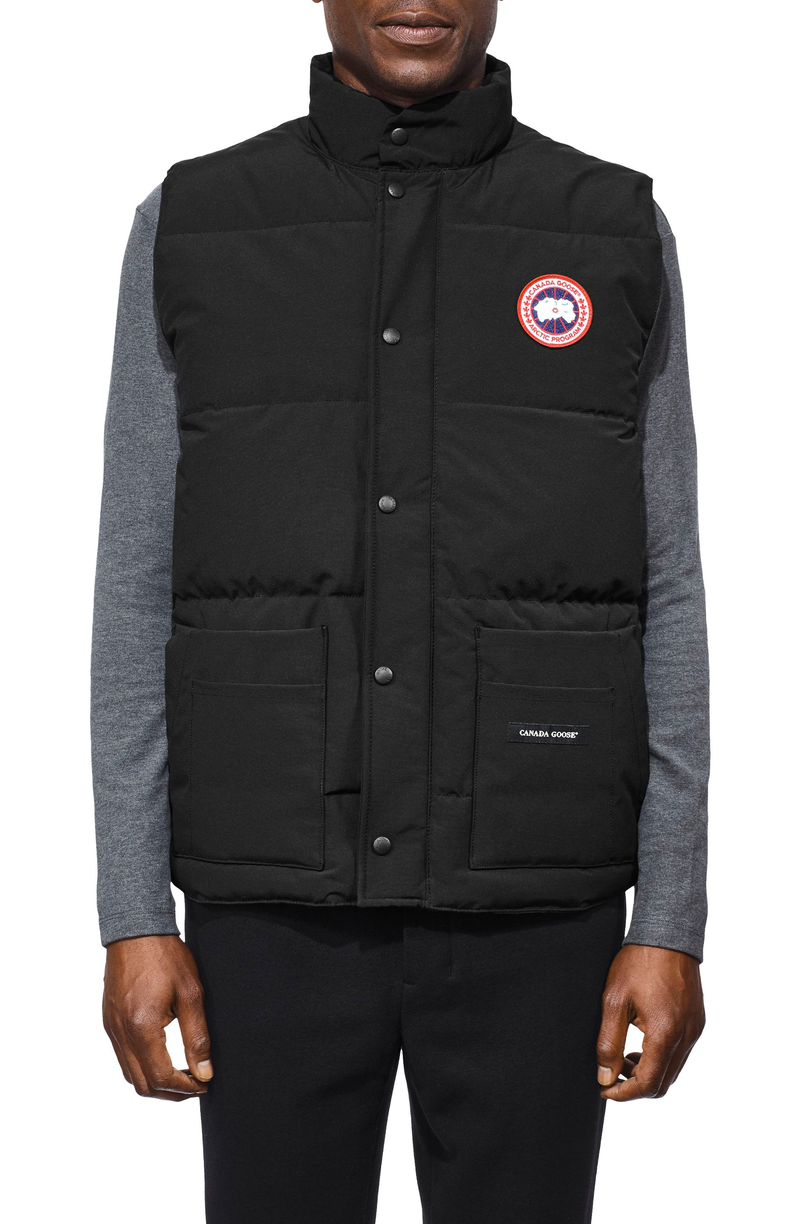 Canada Goose Freestyle Regular Fit Down Vest, Black