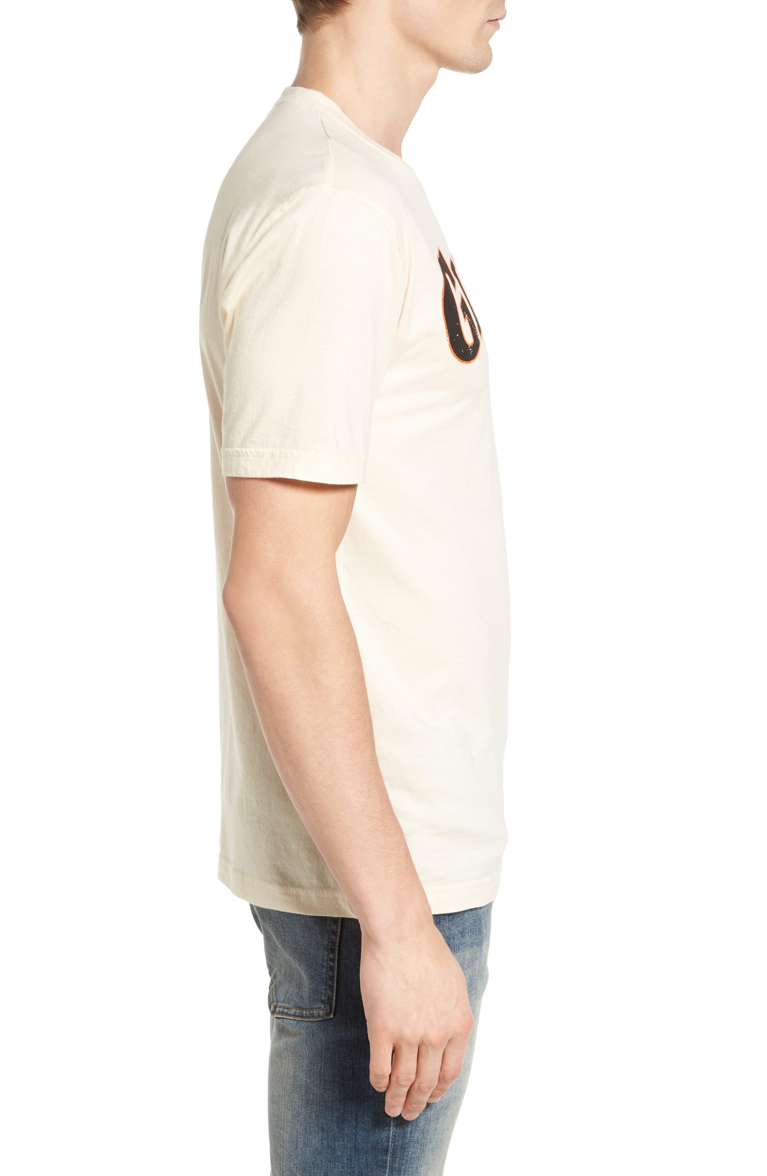 Brass Tack San Francisco Giants T-Shirt,                             Alternate thumbnail 3, color,                             124