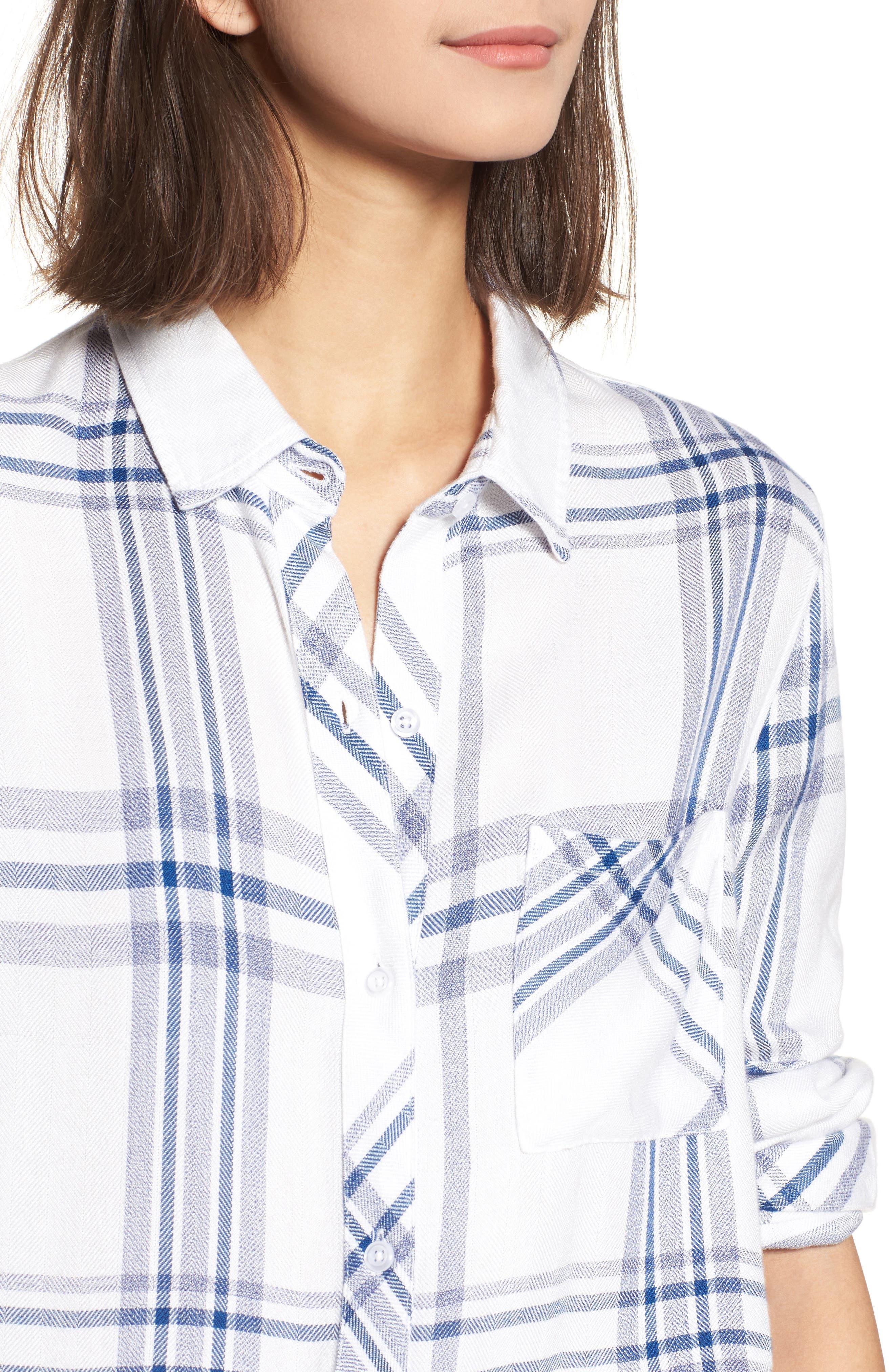 Hunter Plaid Shirt,                             Alternate thumbnail 443, color,