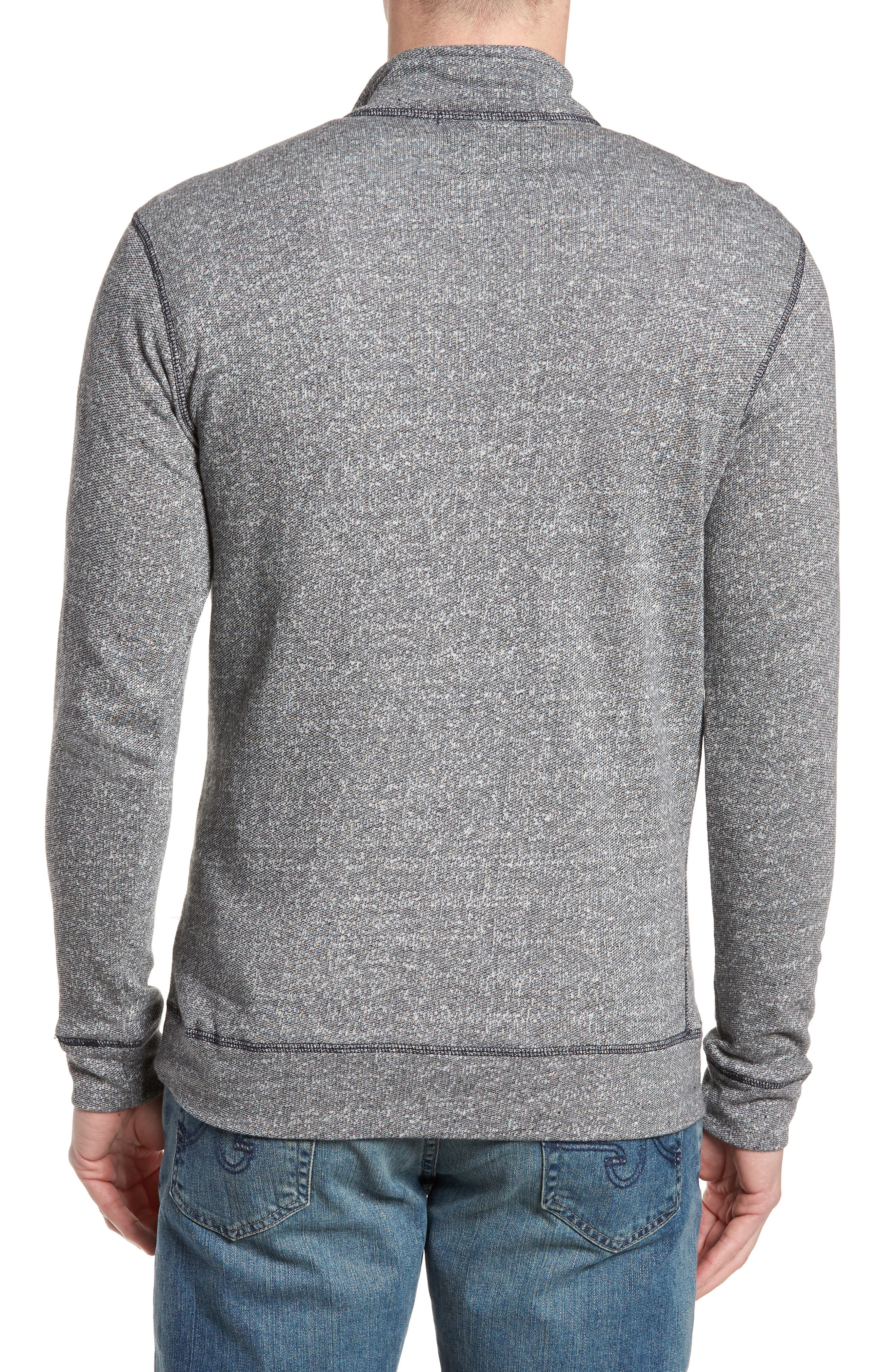 Regular Fit French Terry Pullover,                             Alternate thumbnail 2, color,                             010