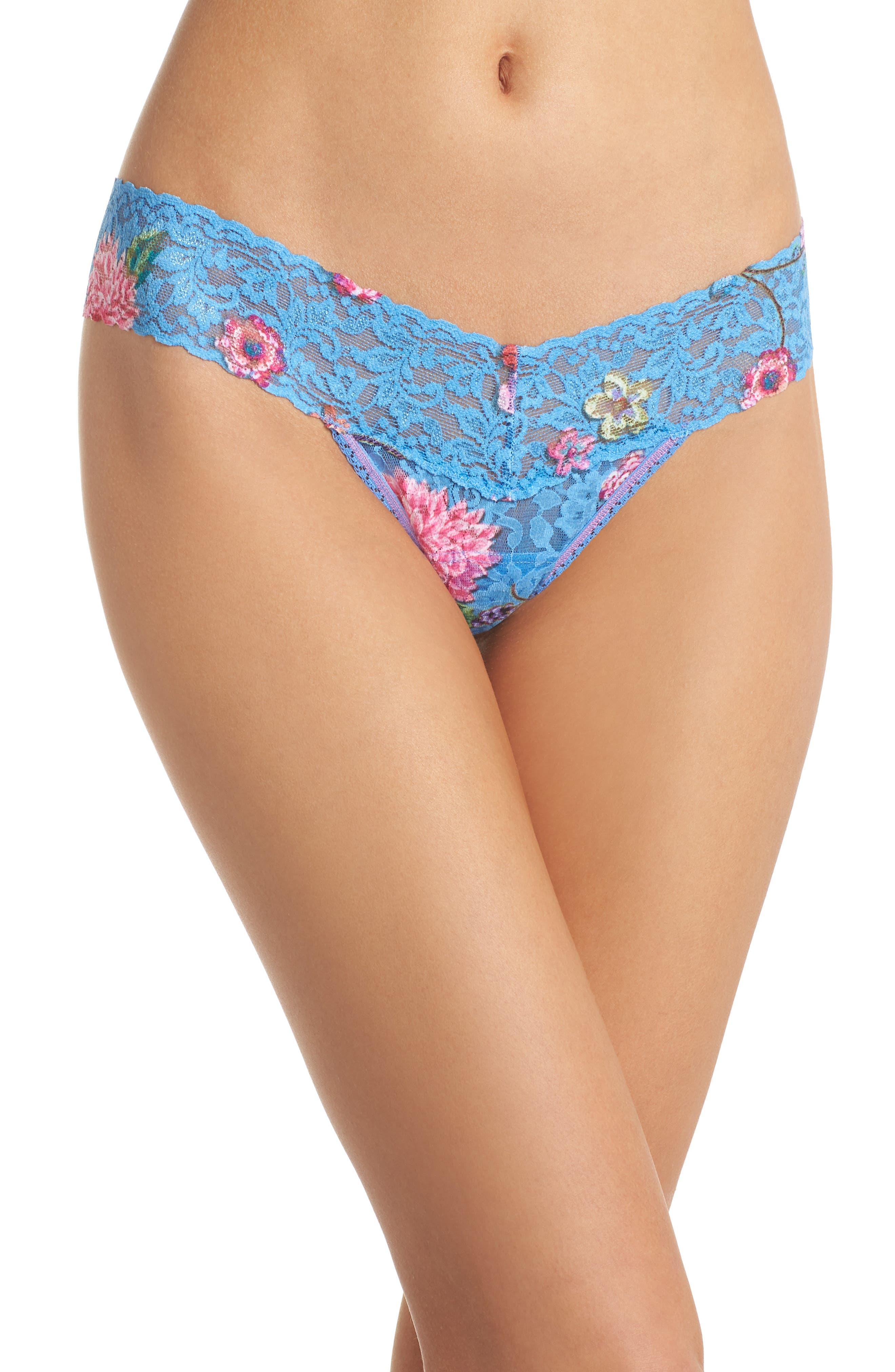 Print Low Rise Thong,                             Main thumbnail 11, color,