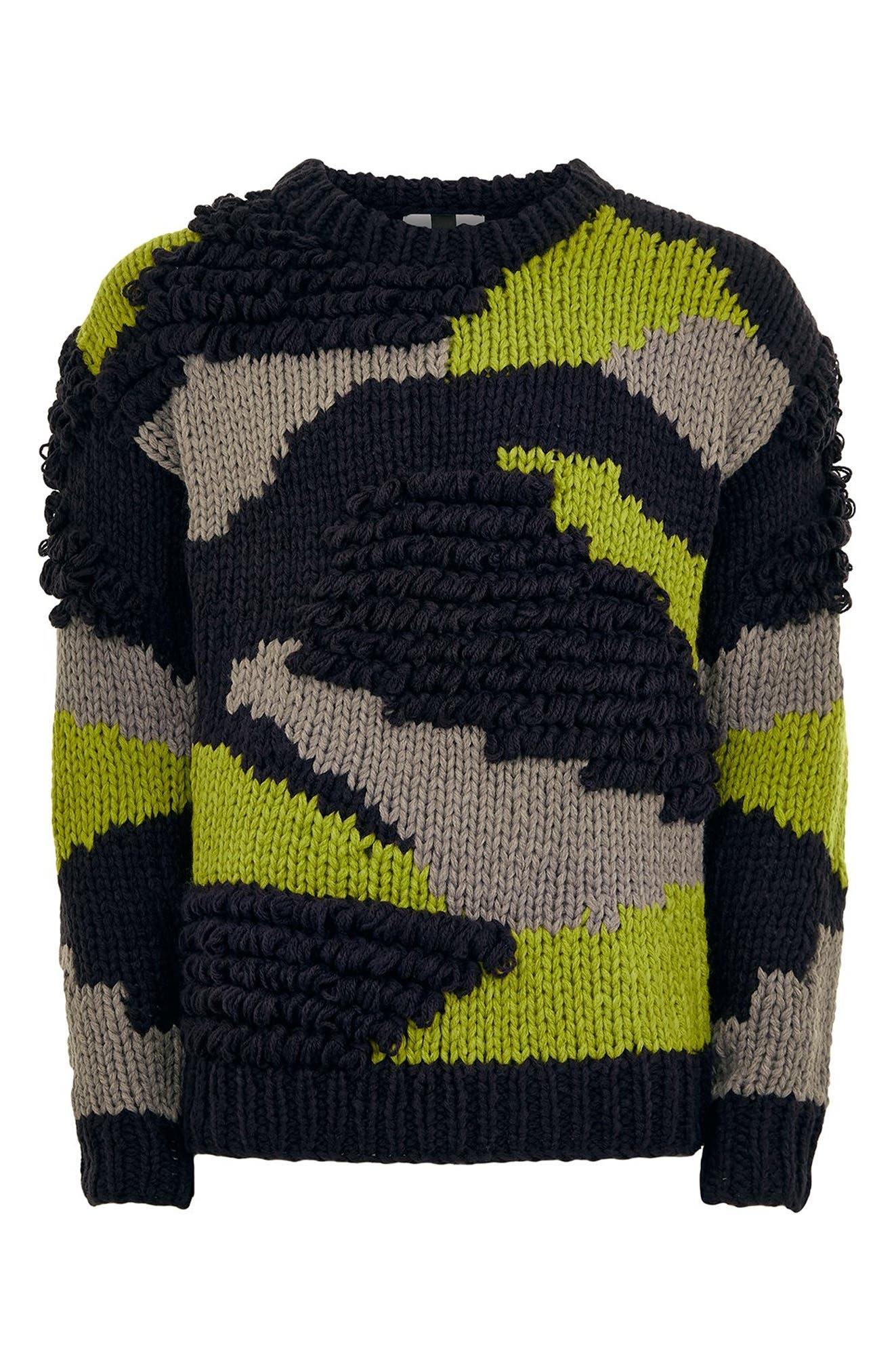 Classic Fit Sweater,                             Alternate thumbnail 5, color,                             020
