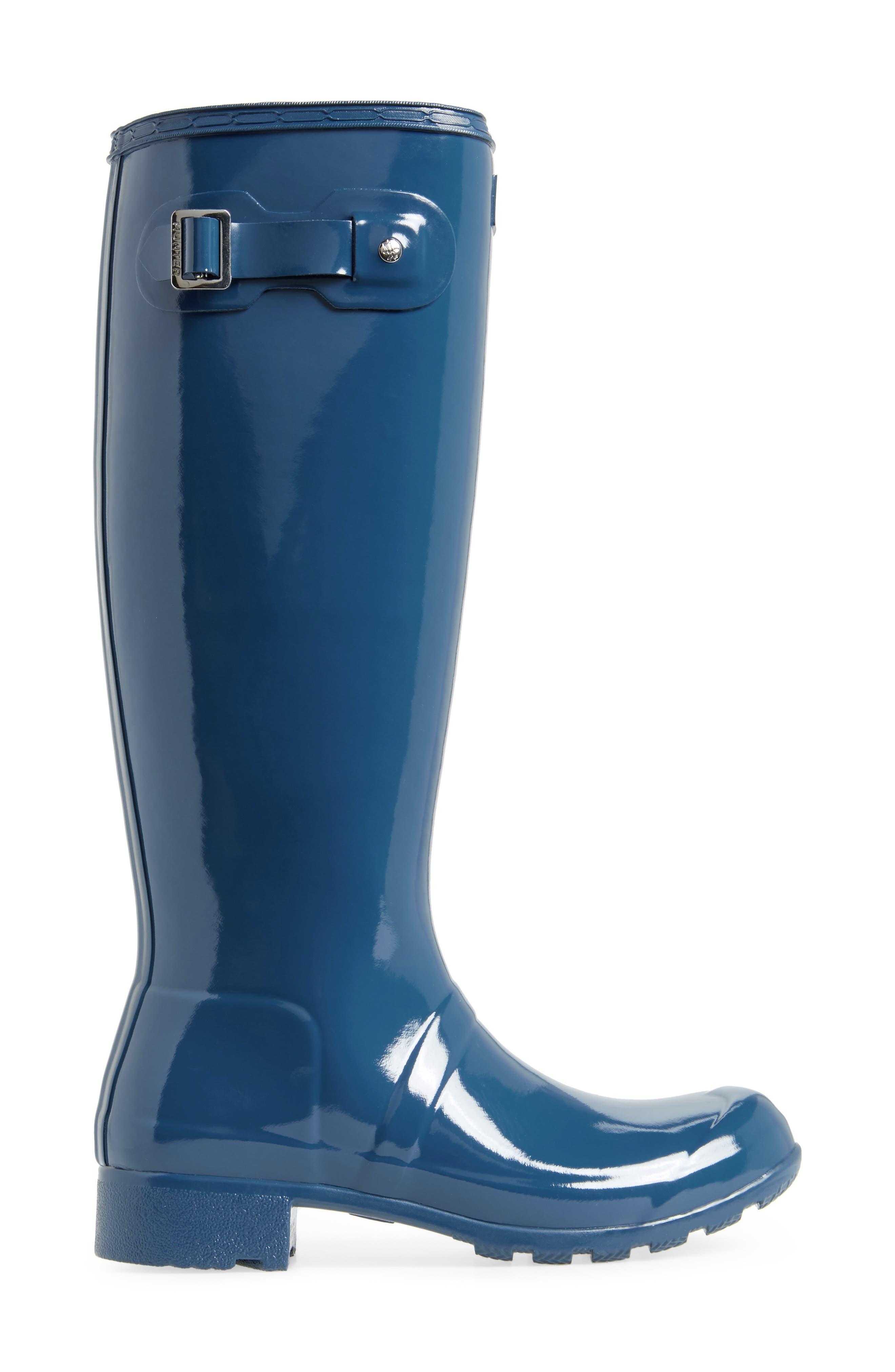 Original Tour Gloss Packable Rain Boot,                             Alternate thumbnail 22, color,