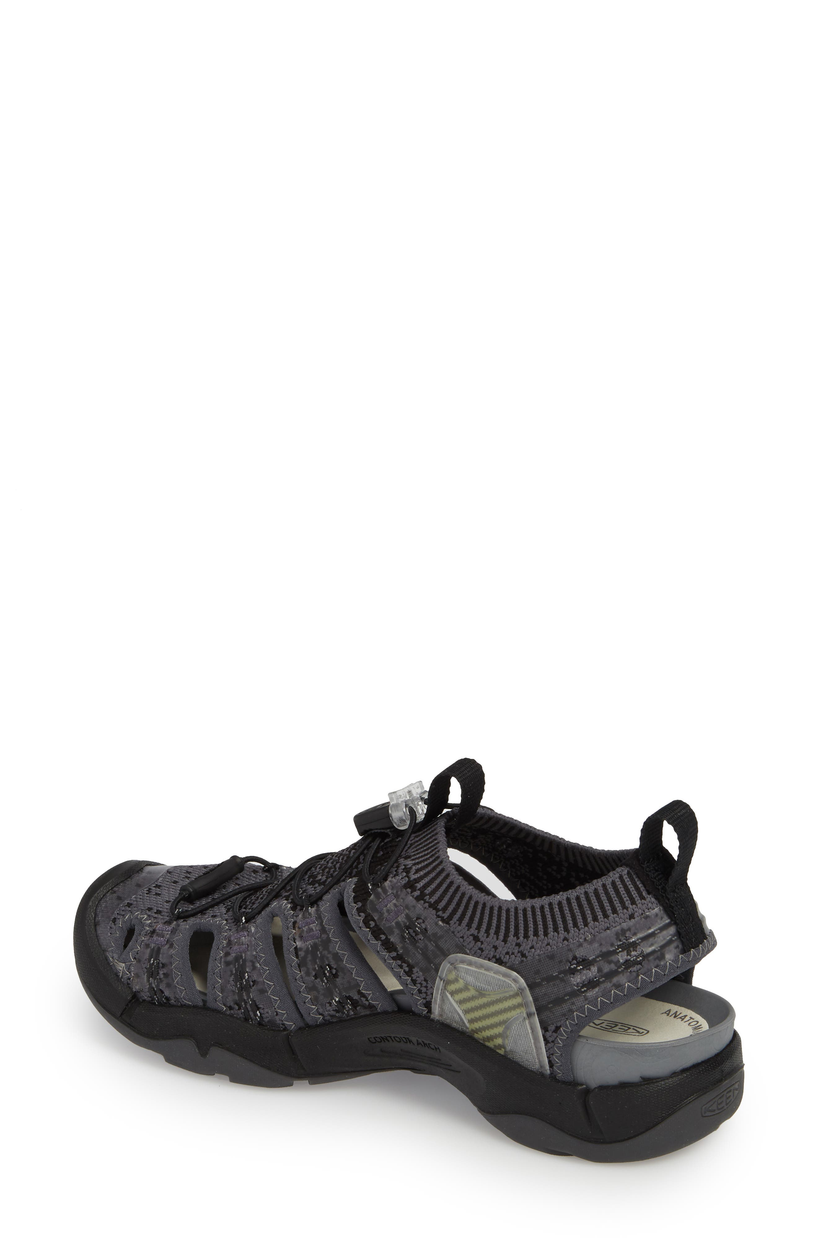 EVOFIT One Sandal,                             Alternate thumbnail 2, color,                             HEATHERED BLACK/ MAGNET
