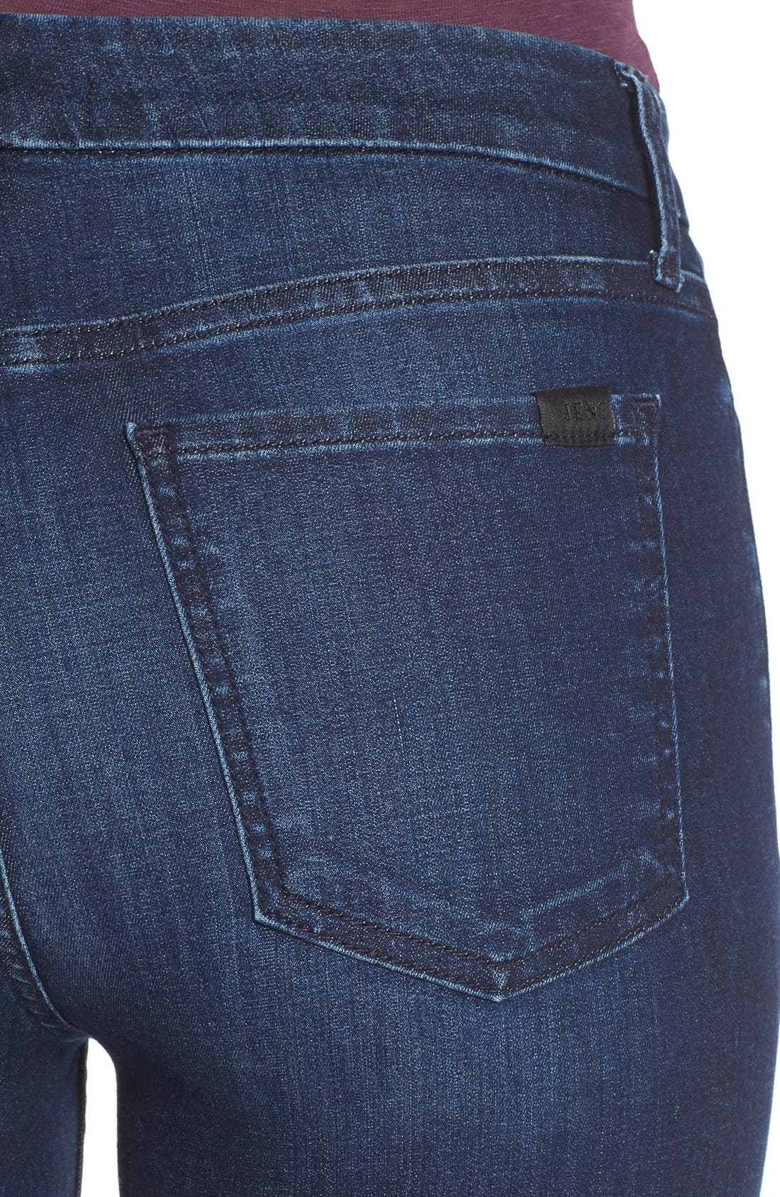 Stretch Skinny Jeans,                             Alternate thumbnail 3, color,                             400