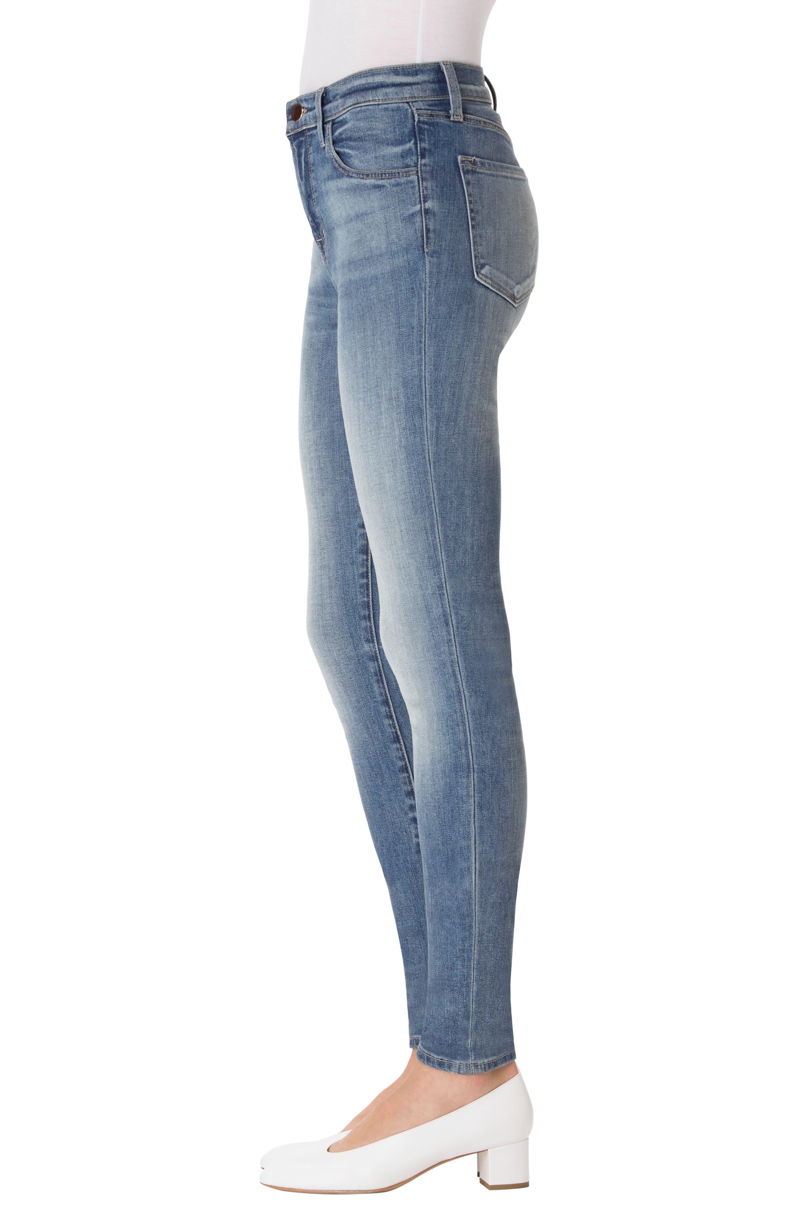 Maria High Waist Skinny Jeans,                             Alternate thumbnail 31, color,
