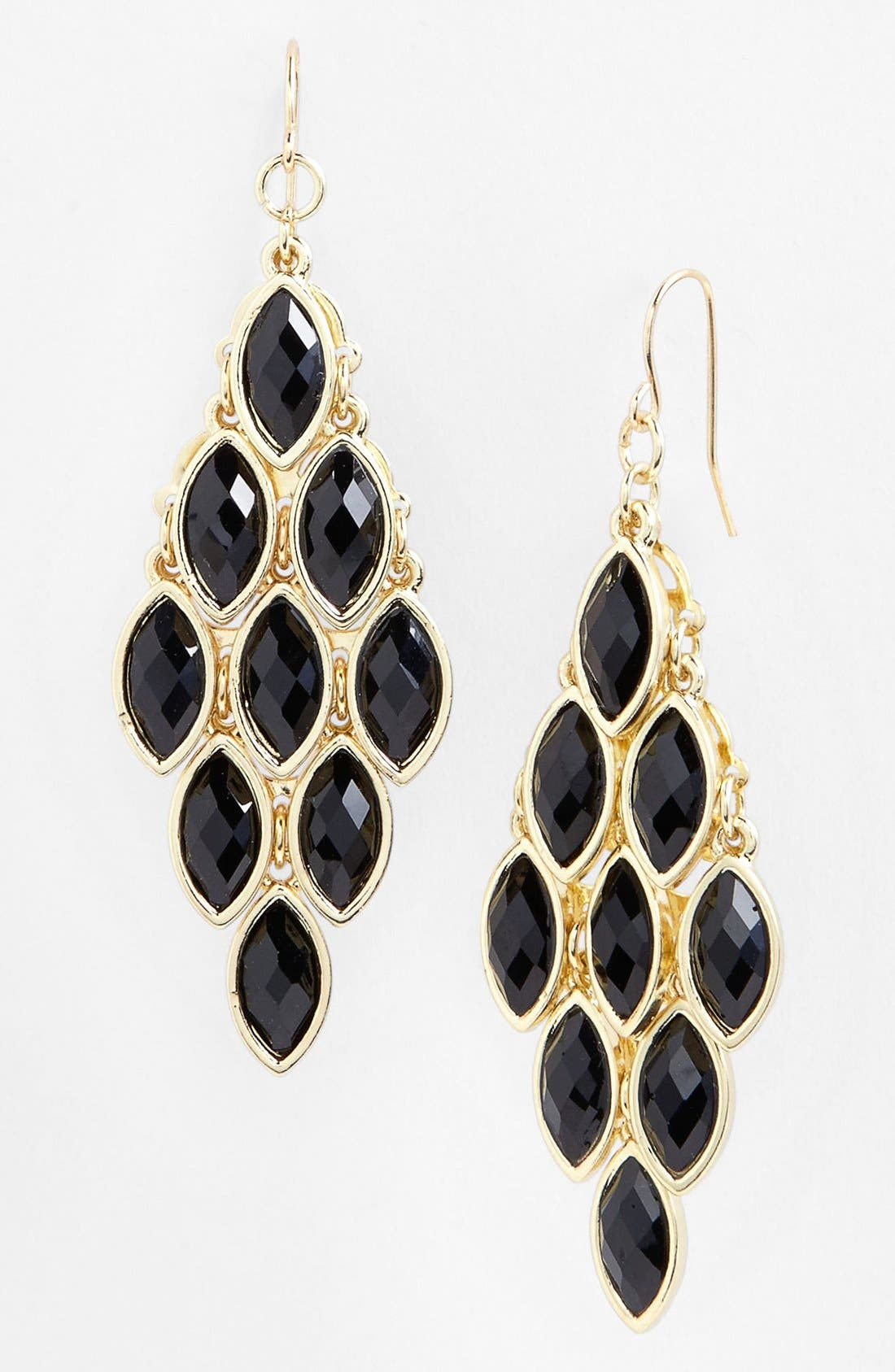 TASHA,                             Stone Chandelier Earrings,                             Main thumbnail 1, color,                             001
