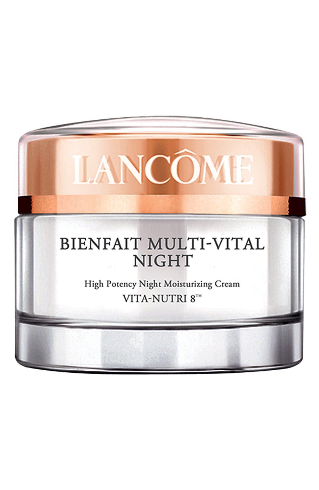 Bienfait Multi-Vital Night Cream,                             Main thumbnail 1, color,                             NO COLOR