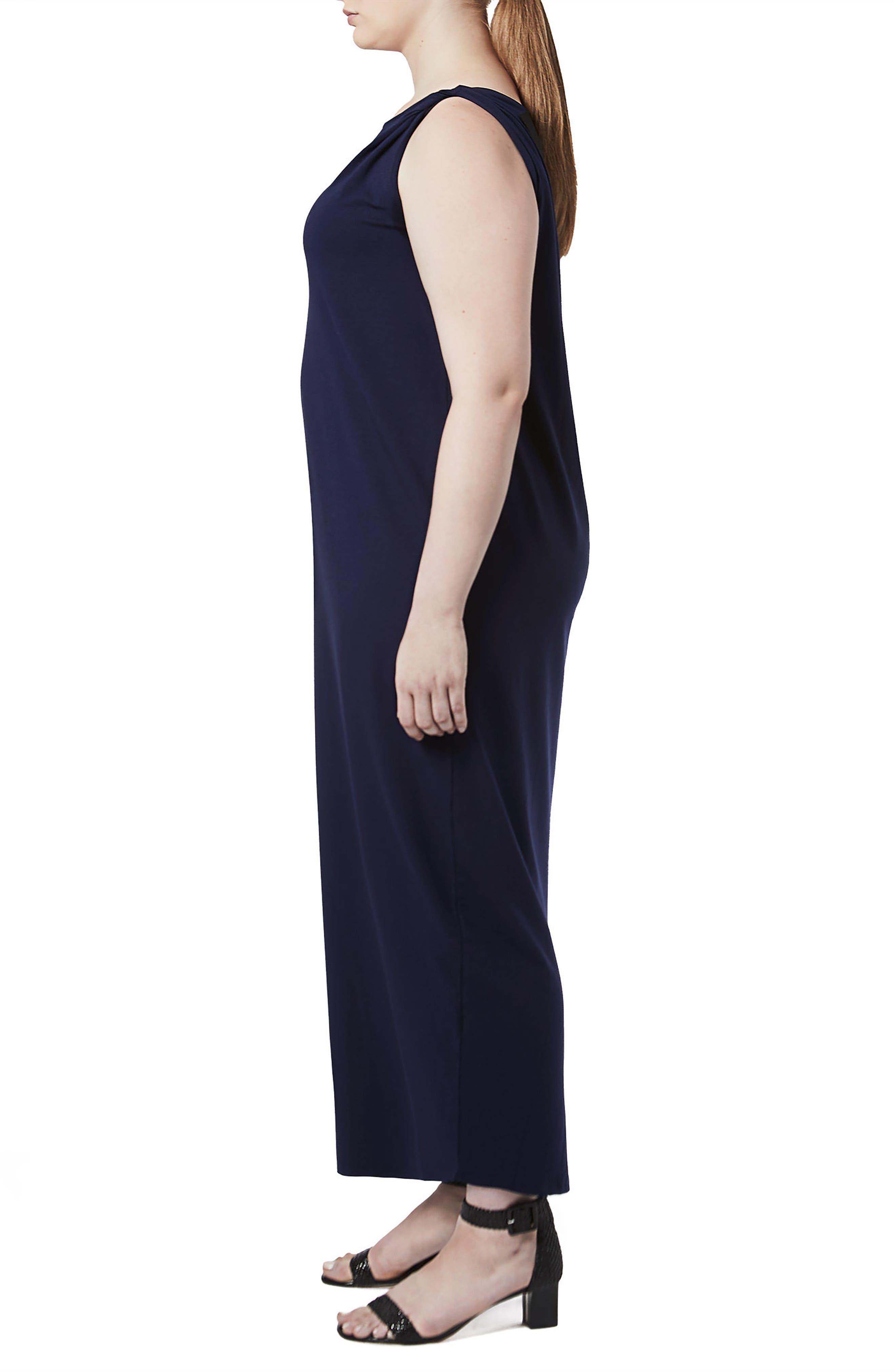 Tenna Washed Jersey Maxi Dress,                             Alternate thumbnail 3, color,                             409