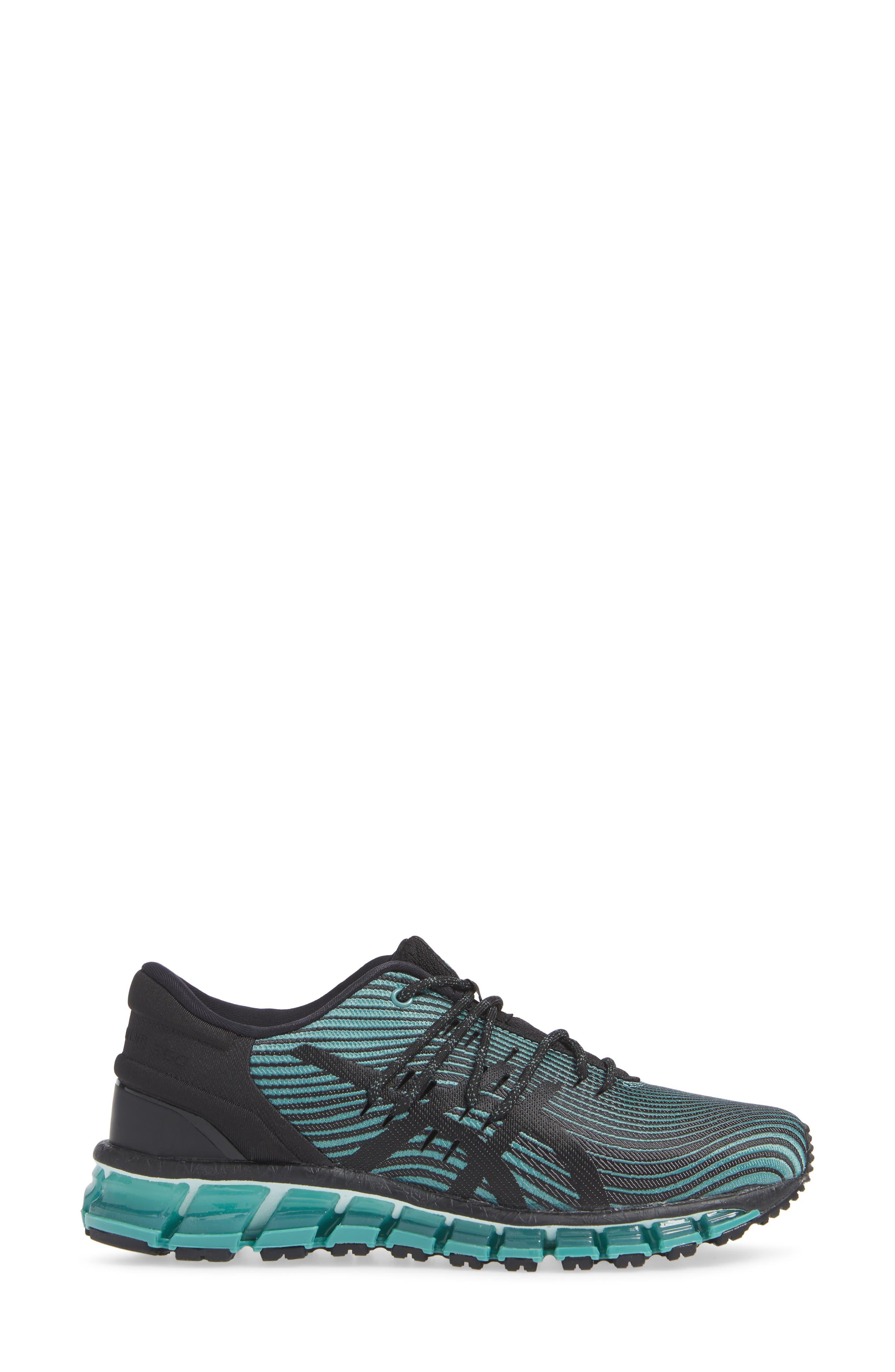 GEL Quantum 360 4 Running Shoe,                             Alternate thumbnail 3, color,                             SAGE/ BLACK