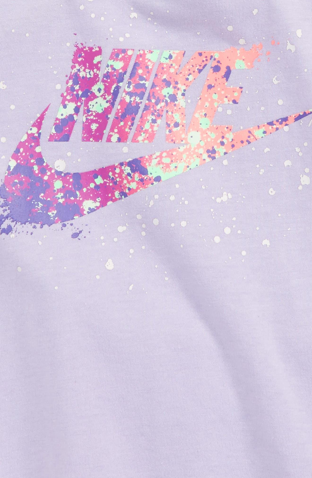 Infant Girls Nike Splatter Tank  Shorts Set
