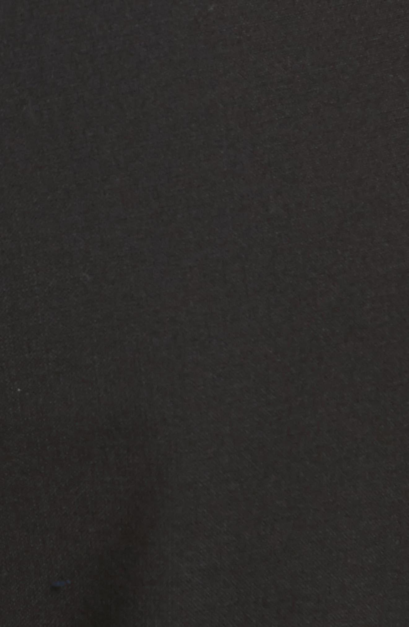 Sinuous Crop Flare Pants,                             Alternate thumbnail 5, color,                             001