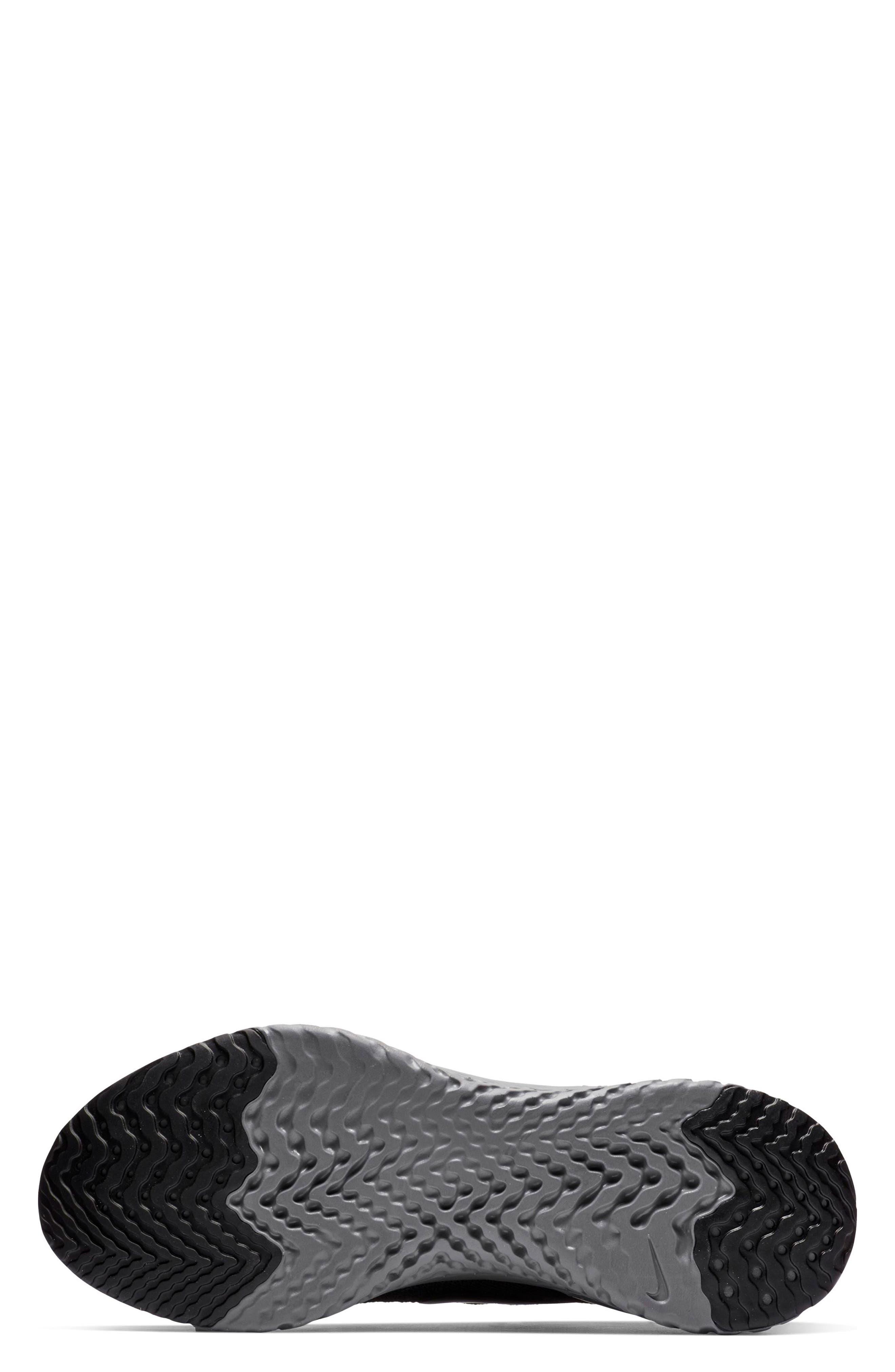 Epic React Flyknit 2 Running Shoe,                             Alternate thumbnail 5, color,                             001