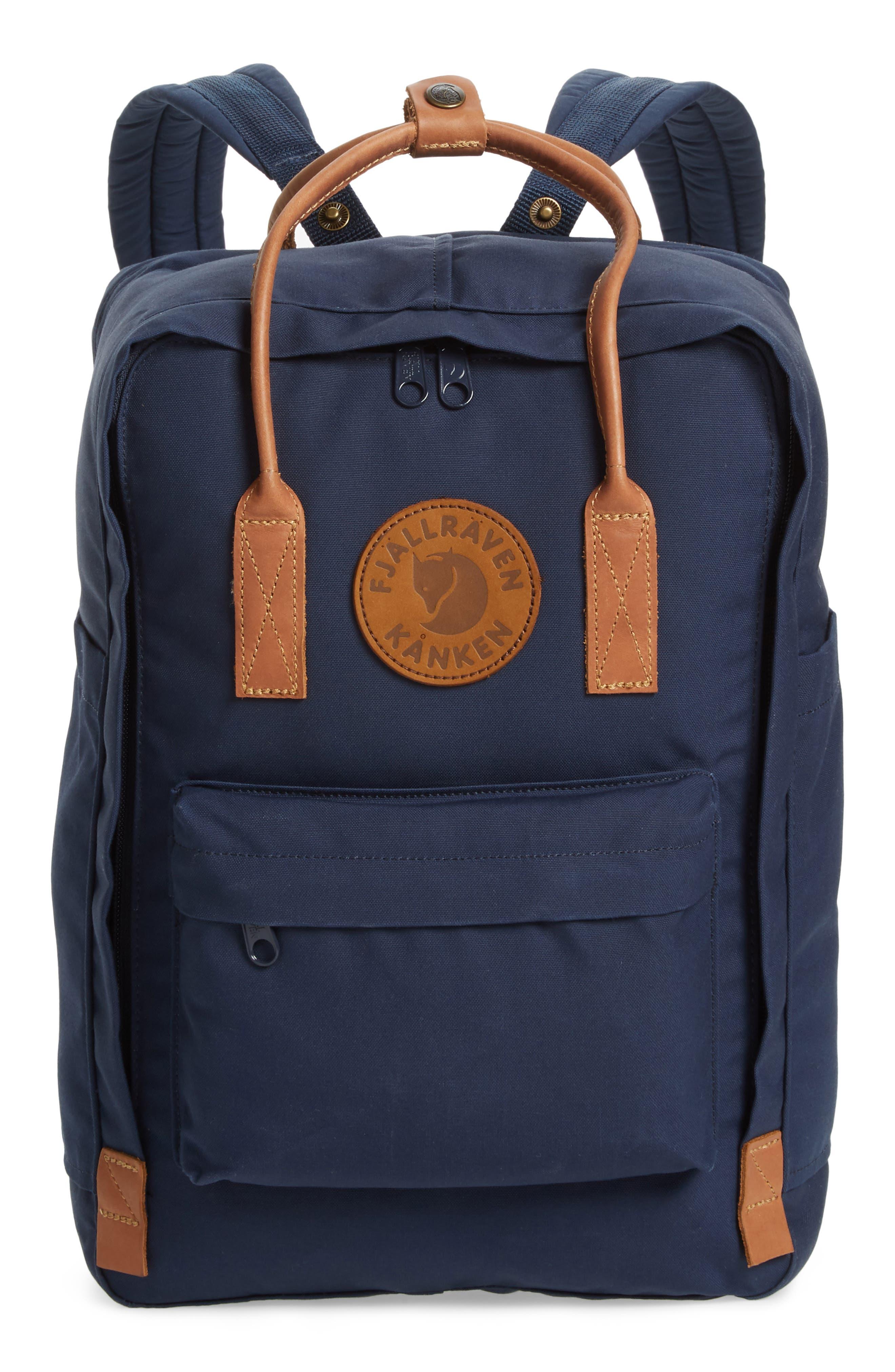 "Kånken No. 2 15"" Laptop Backpack,                             Main thumbnail 1, color,                             NAVY"