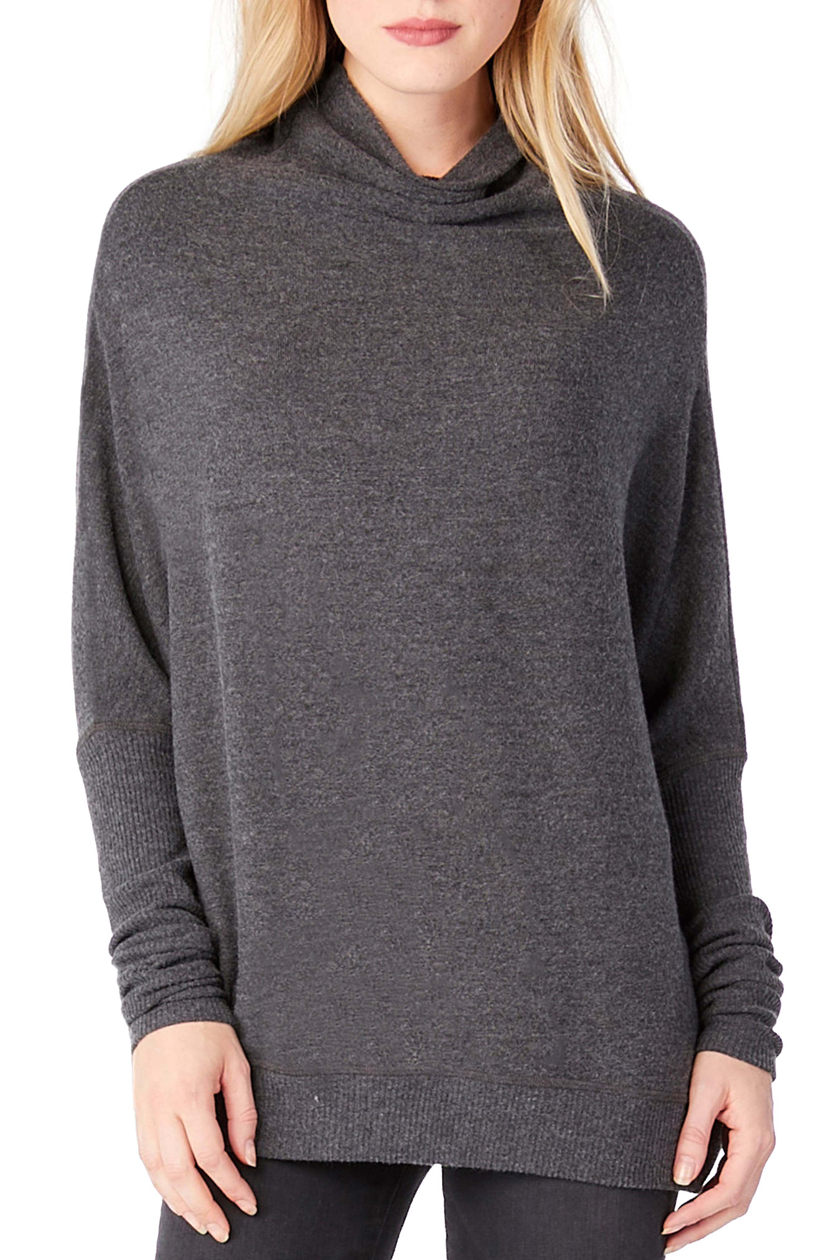 Mock Neck Dolman Shirt,                         Main,                         color, 020