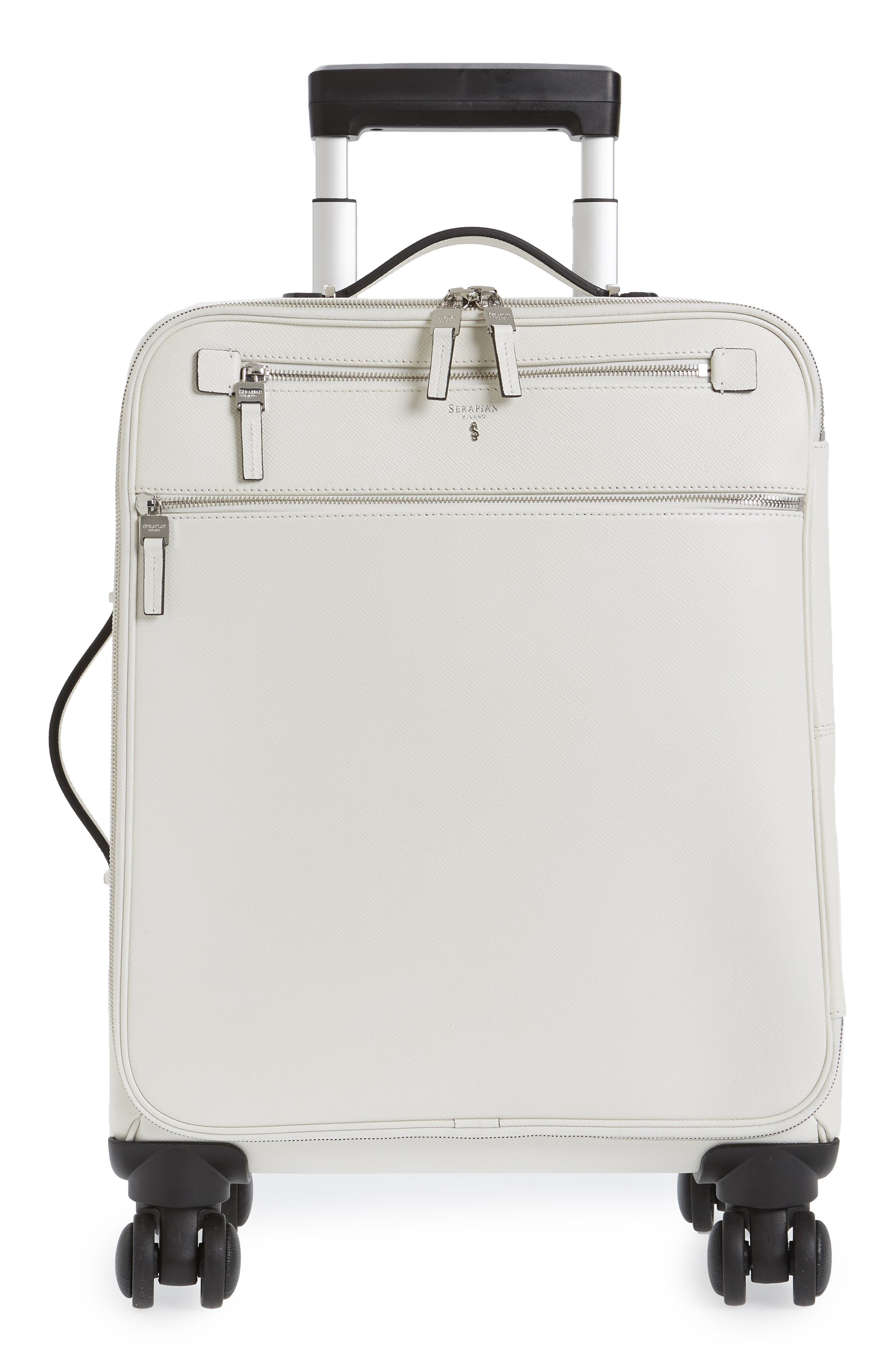 Trolley Spinner Wheeled Carry-On Suitcase,                         Main,                         color,