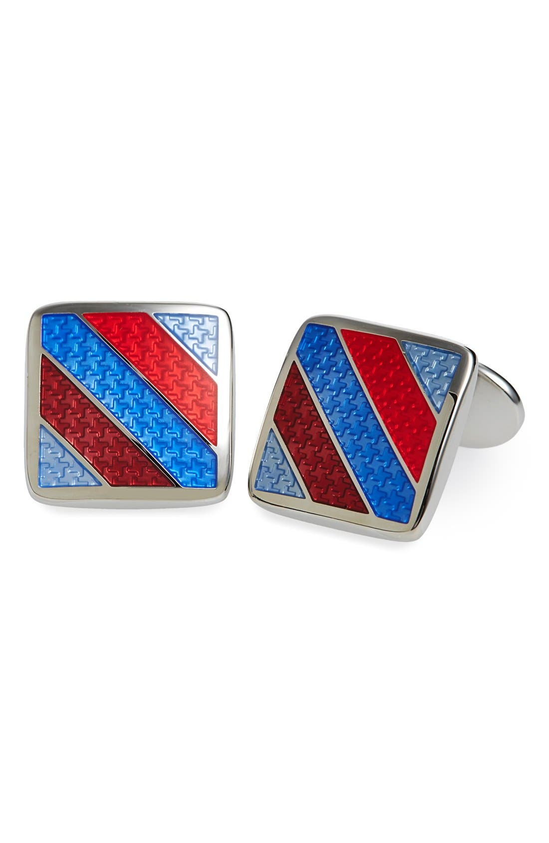 Enamel Cuff Links,                             Main thumbnail 1, color,