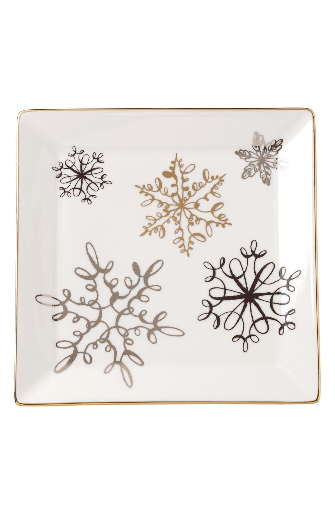 dachshund decorative porcelain tray,                             Main thumbnail 3, color,