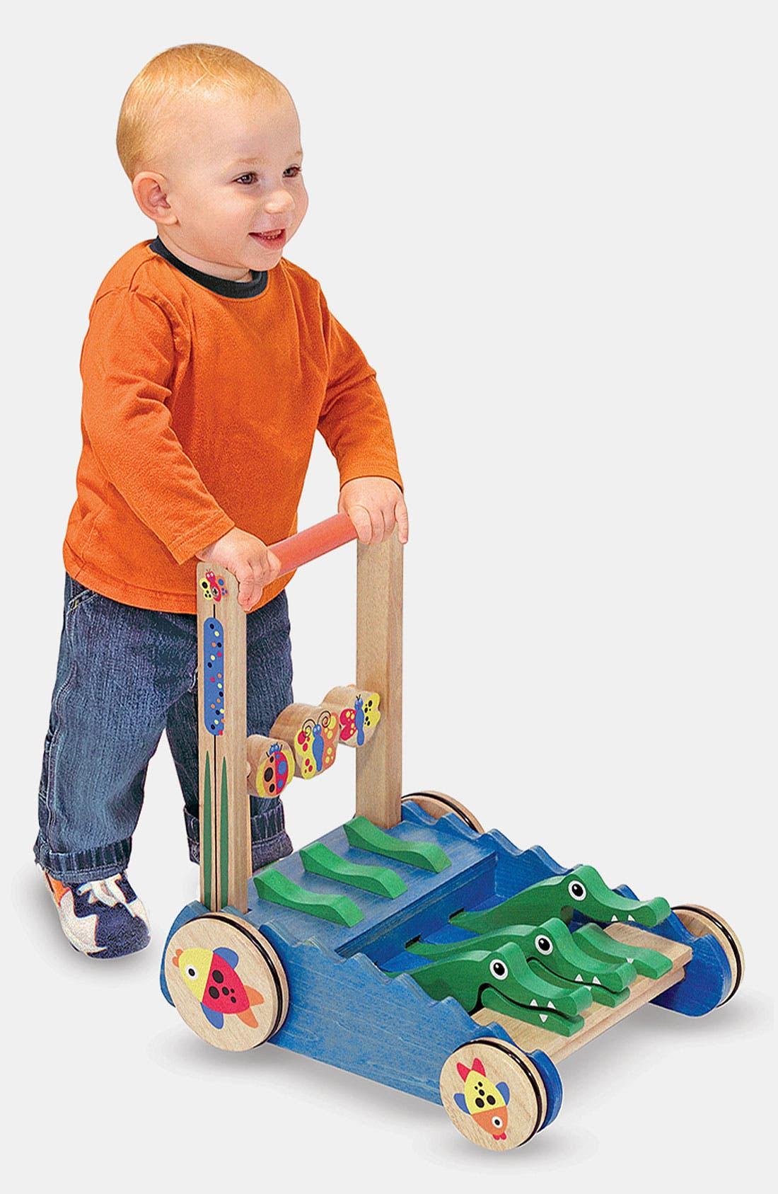 Chomp & Clack Alligator Push Toy,                             Main thumbnail 1, color,                             MUL