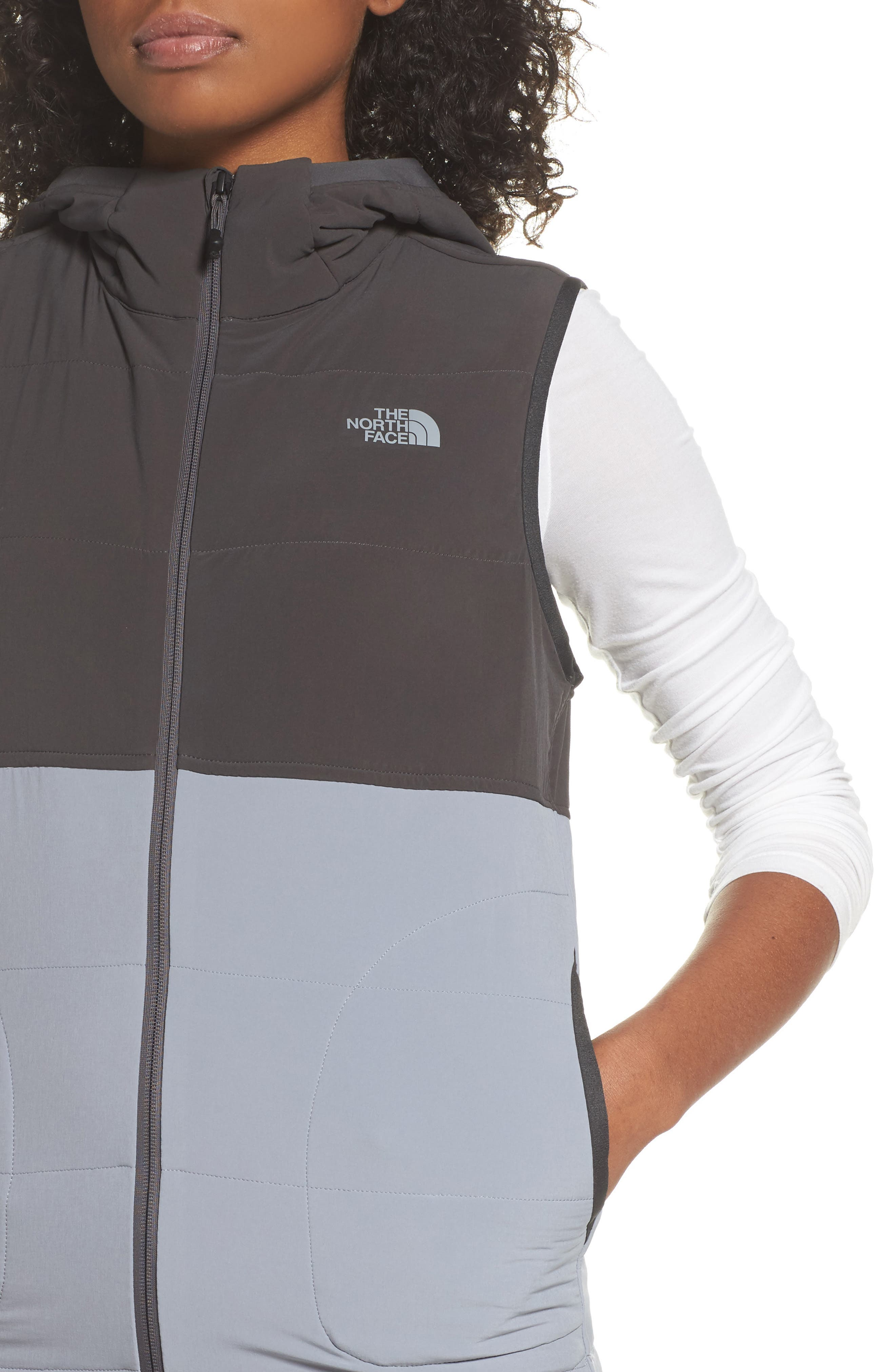 Mountain Sweatshirt Insulated Hooded Vest,                             Alternate thumbnail 15, color,