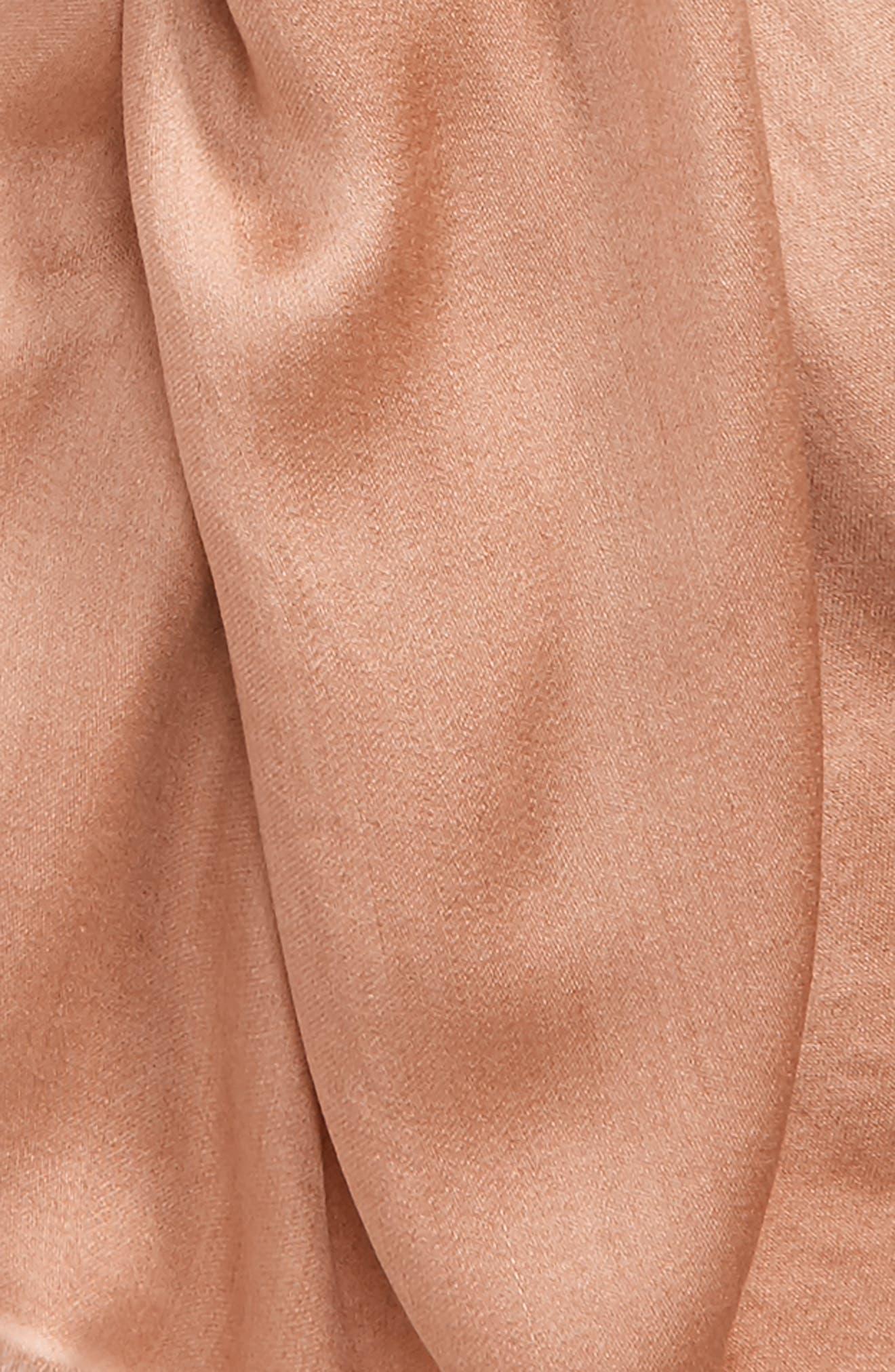 Upupa Silk Scarf,                             Alternate thumbnail 8, color,