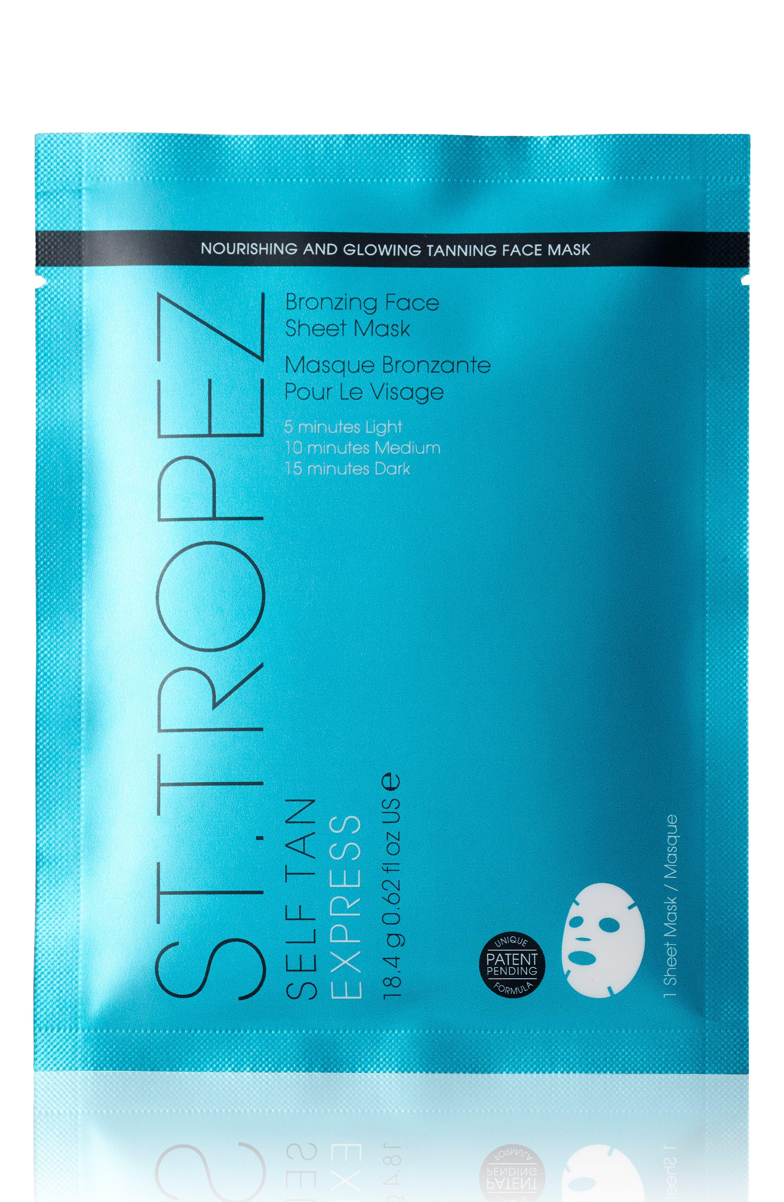 Self Tan Express Sheet Mask,                             Main thumbnail 1, color,                             200