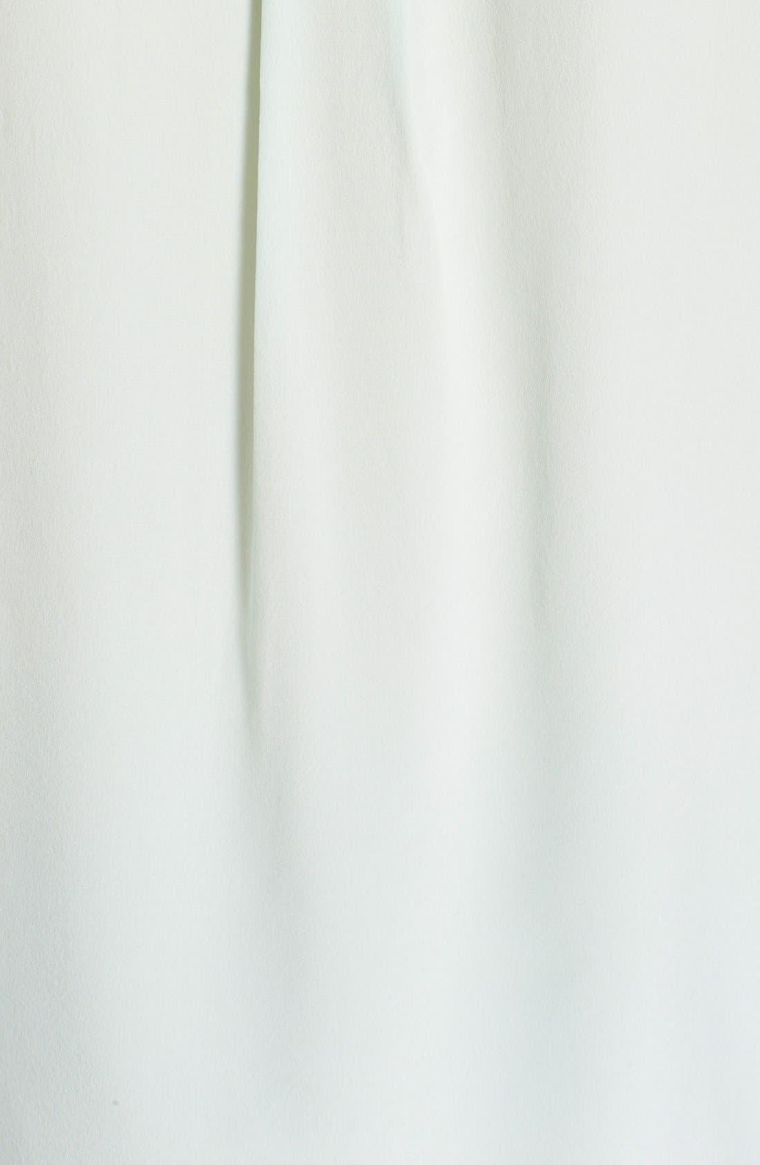 'Slim Signature' Sleeveless Silk Shirt,                             Alternate thumbnail 105, color,