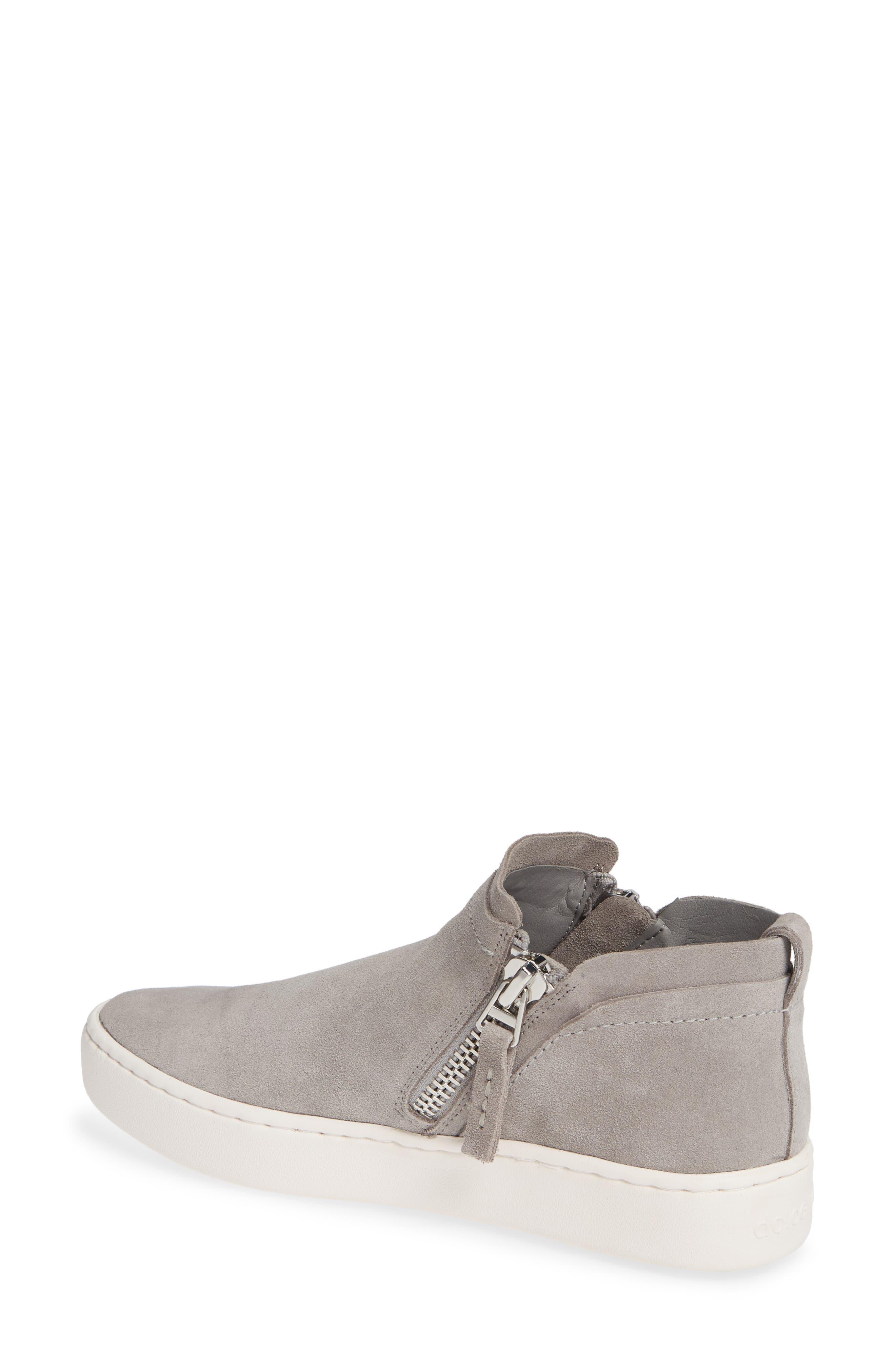 DOLCE VITA,                             Tobee Zip Sneaker,                             Alternate thumbnail 2, color,                             SMOKE SUEDE