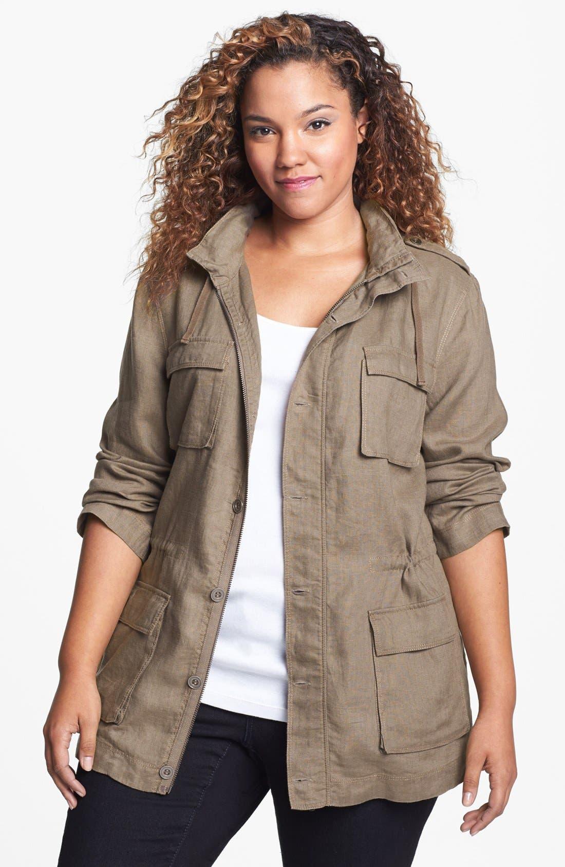 OLIVIA MOON Safari Jacket, Main, color, 303