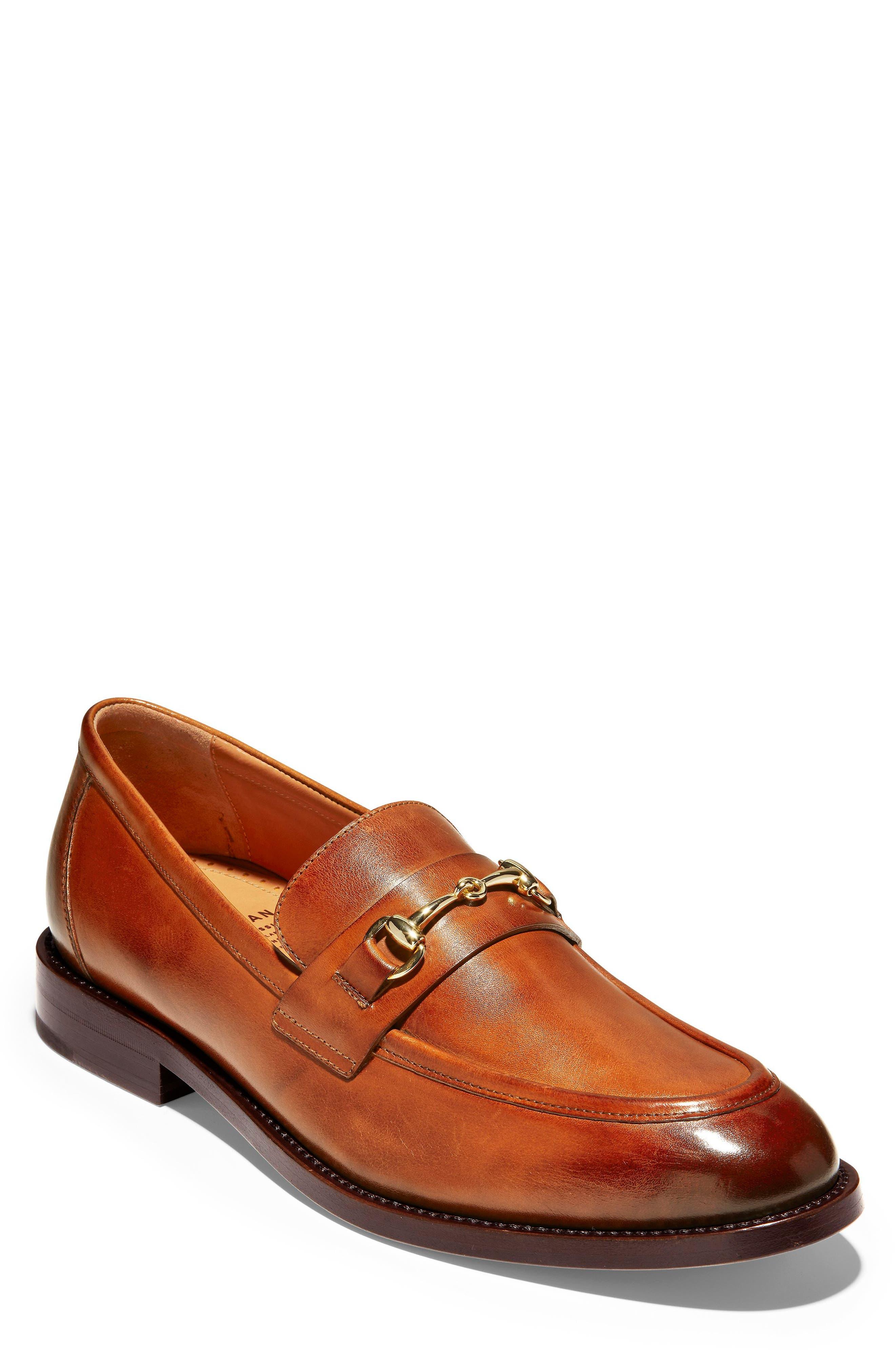 American Classics Kneeland Bit Loafer,                         Main,                         color, BRITISH TAN LEATHER