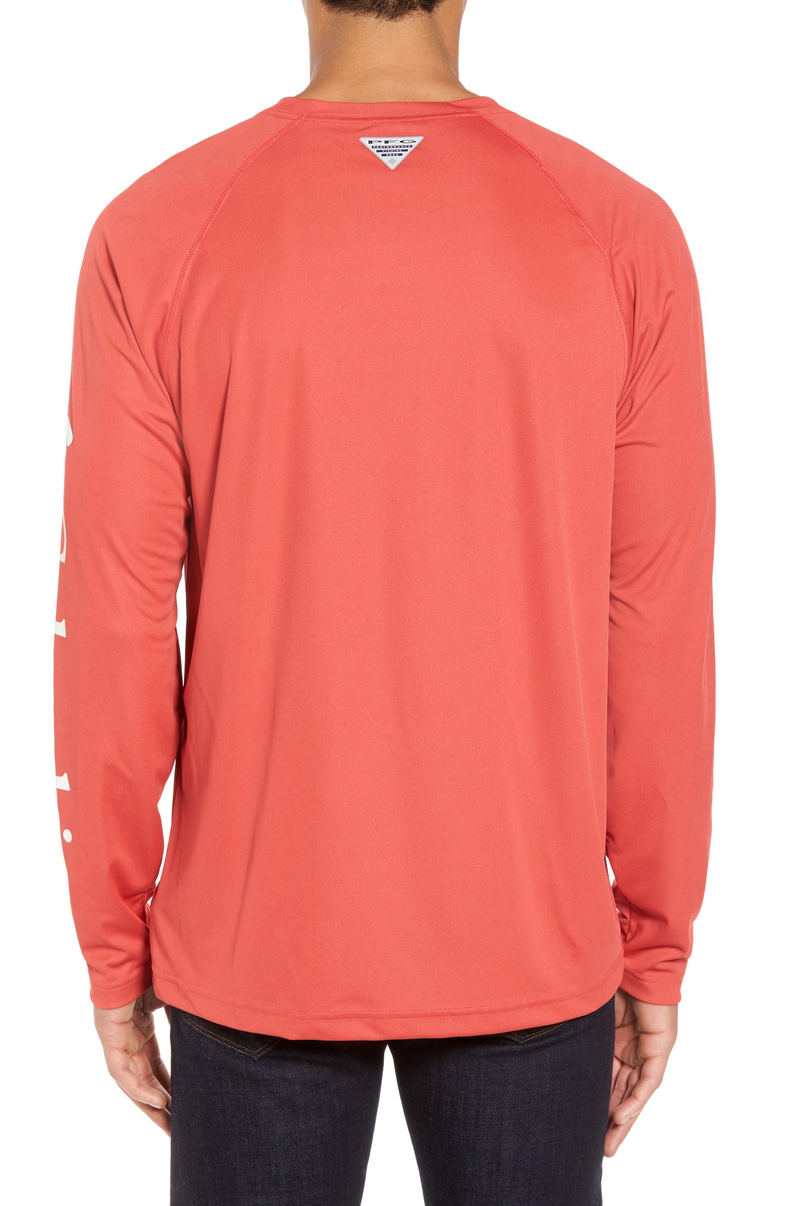 PFG Terminal Tackle Performance Long Sleeve T-Shirt,                             Alternate thumbnail 14, color,
