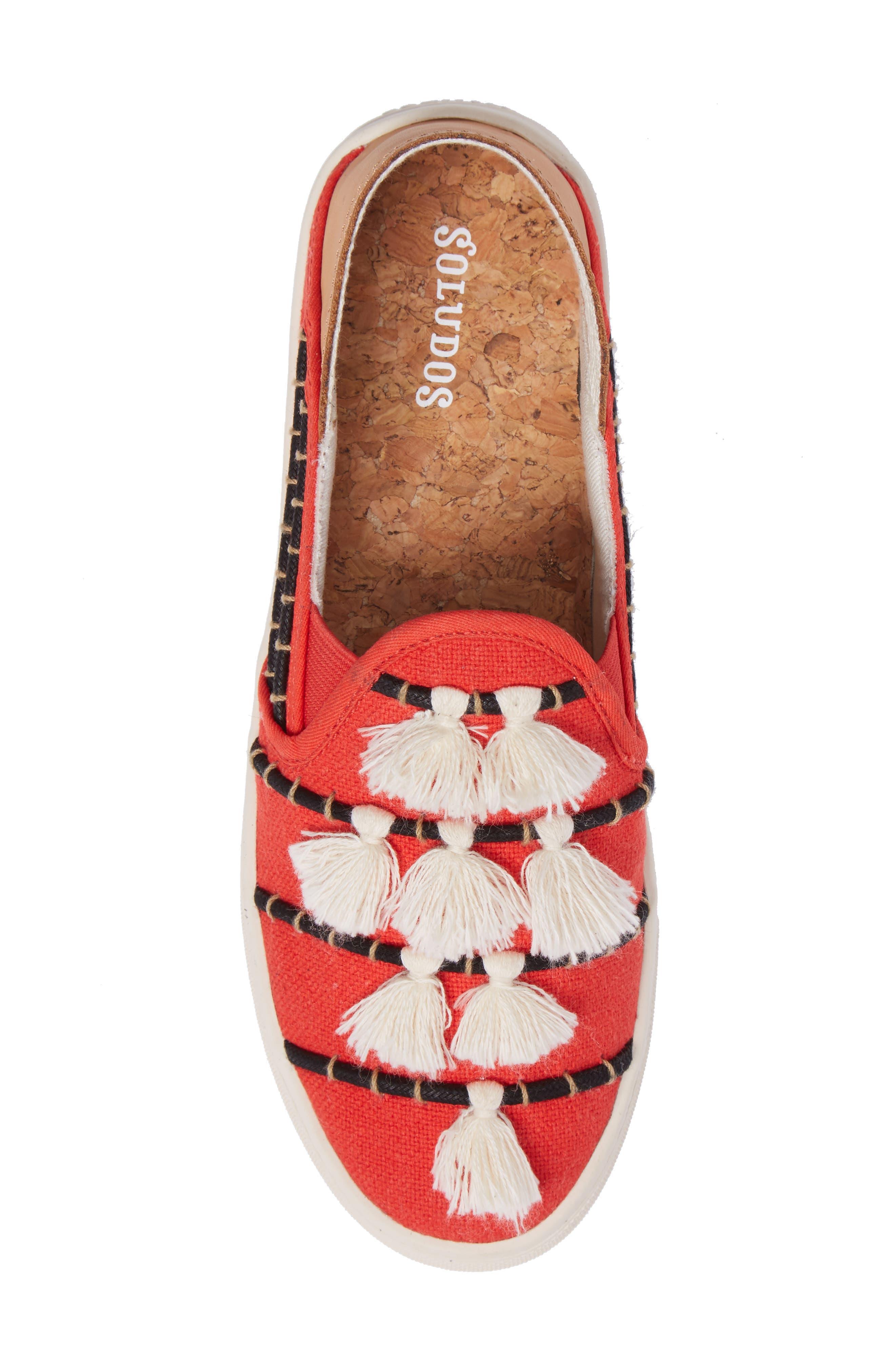 Tassel Slip-On Sneaker,                             Alternate thumbnail 5, color,                             603