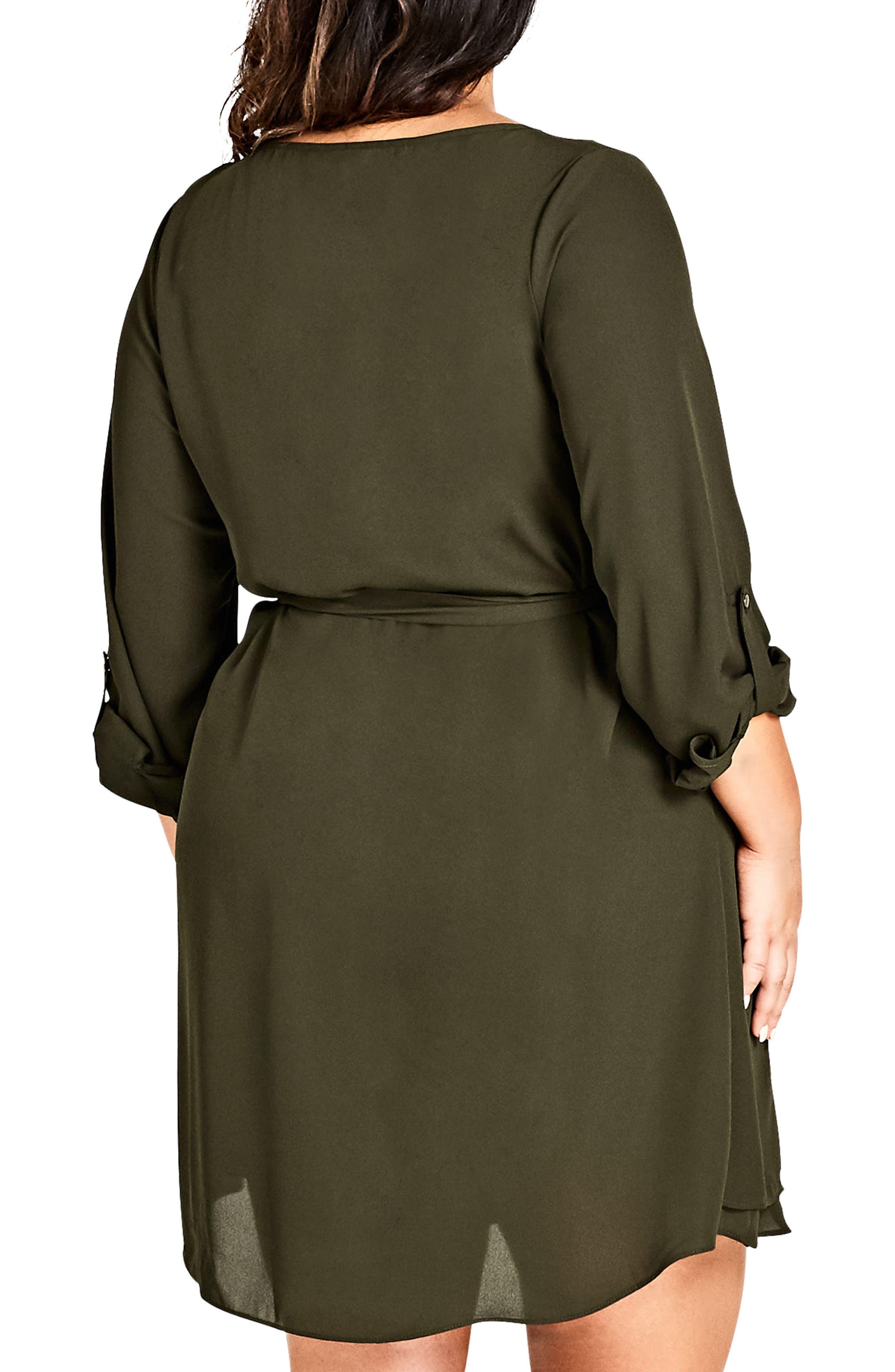 Zip Tunic Dress,                             Alternate thumbnail 2, color,                             311