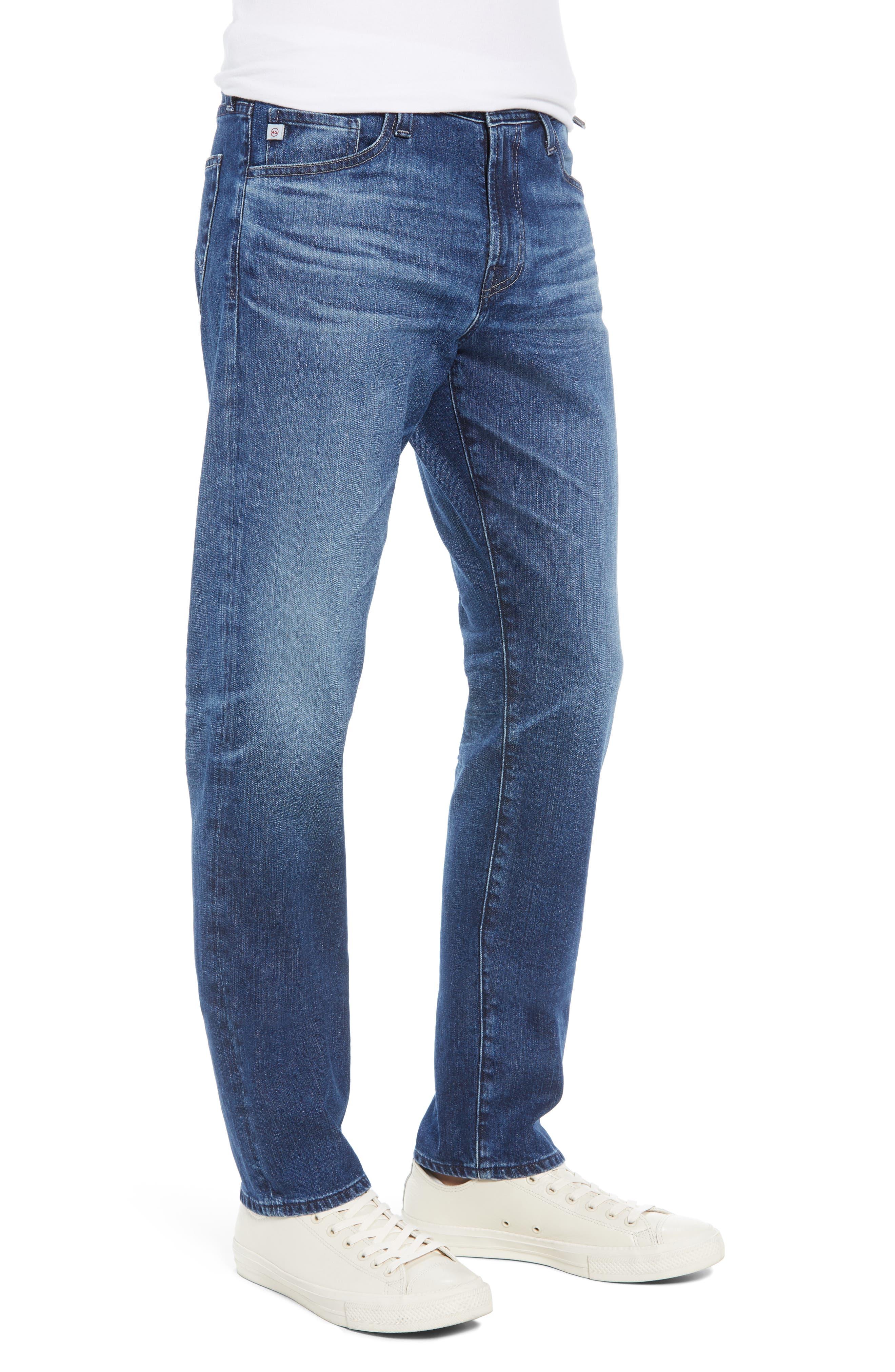 Everett Slim Straight Leg Jeans,                             Alternate thumbnail 3, color,                             9 YEARS SEQUENCE