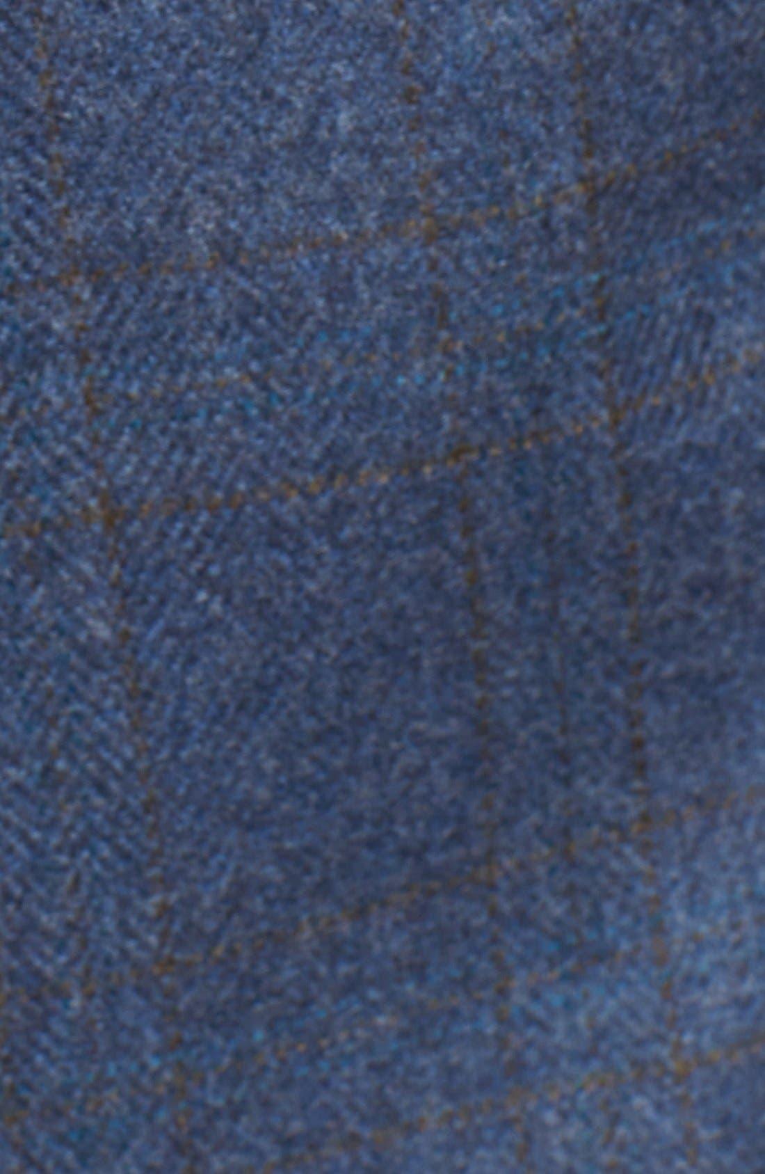 'Clareinch' Herringbone Plaid Sport Coat,                             Alternate thumbnail 10, color,