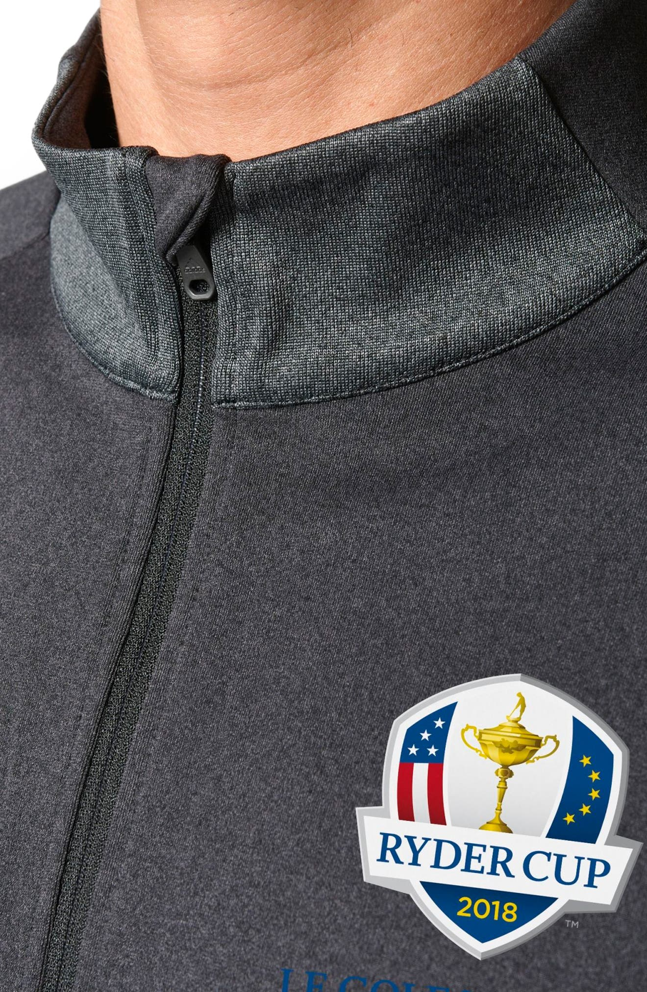 Quarter Zip Gold Pullover,                             Alternate thumbnail 4, color,                             015