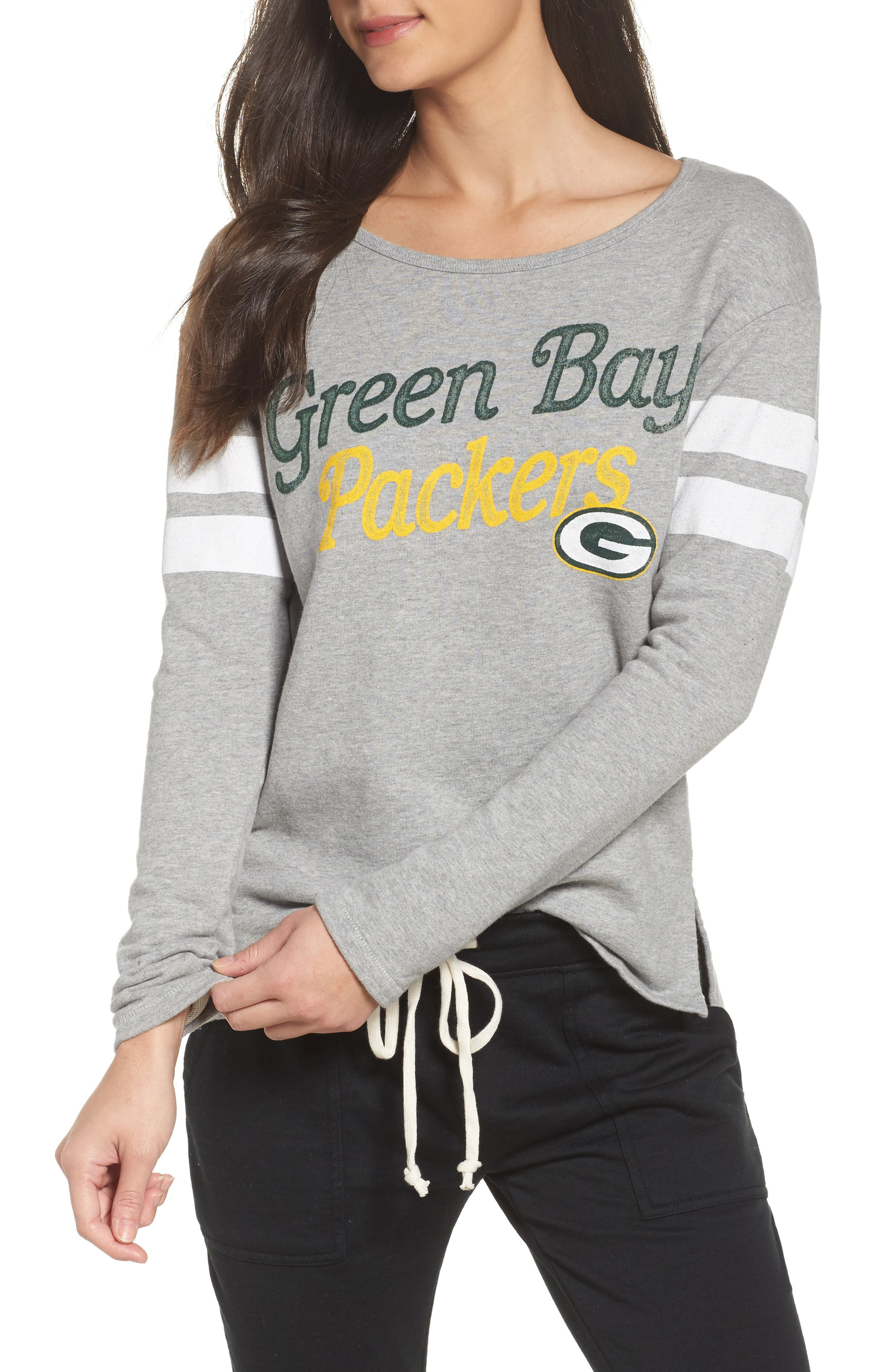 NFL Green Bay Packers Champion Sweatshirt,                             Main thumbnail 1, color,                             028