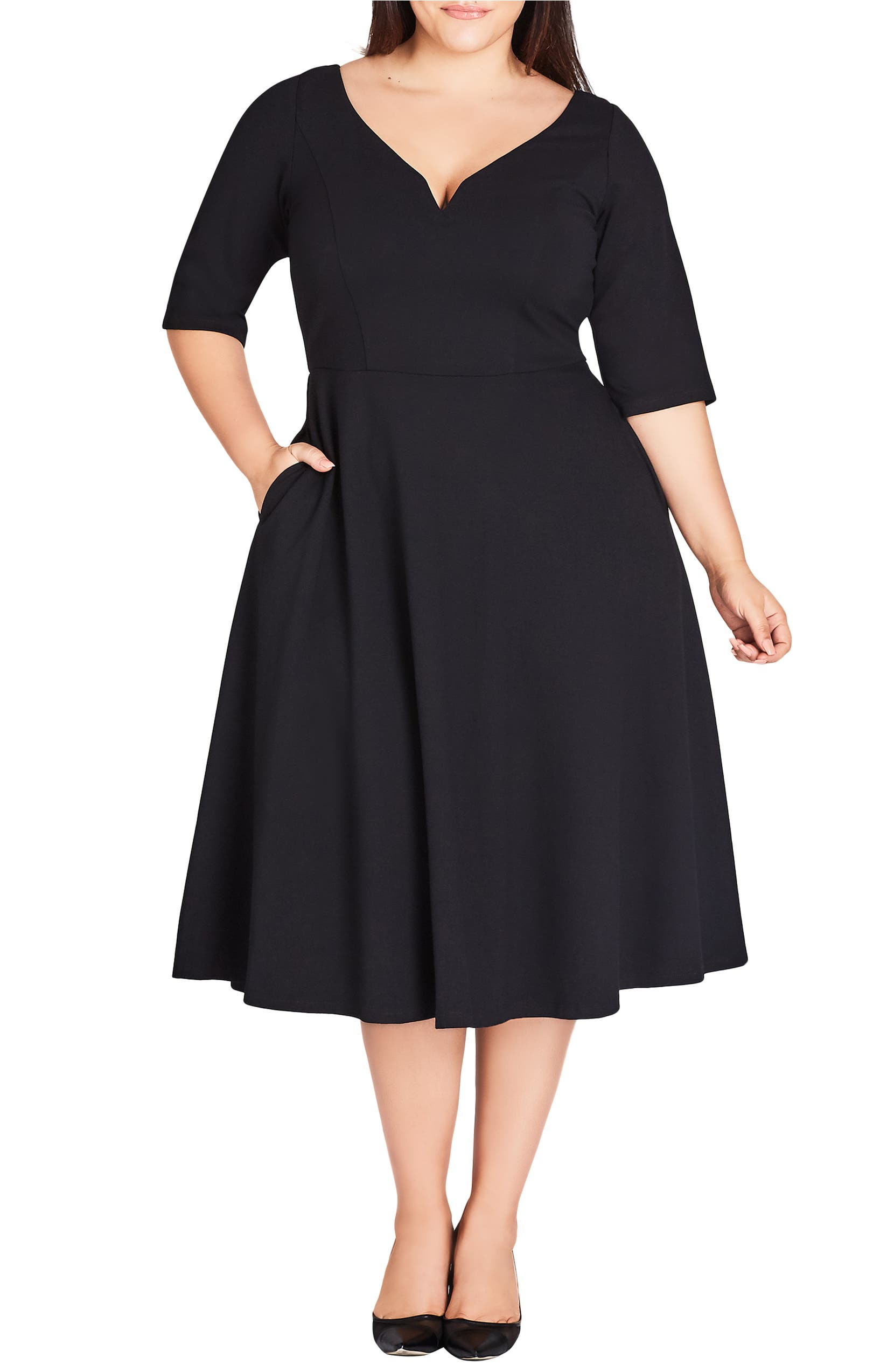 b080aa7e8933d City Chic Cute Girl Dress (Plus Size)