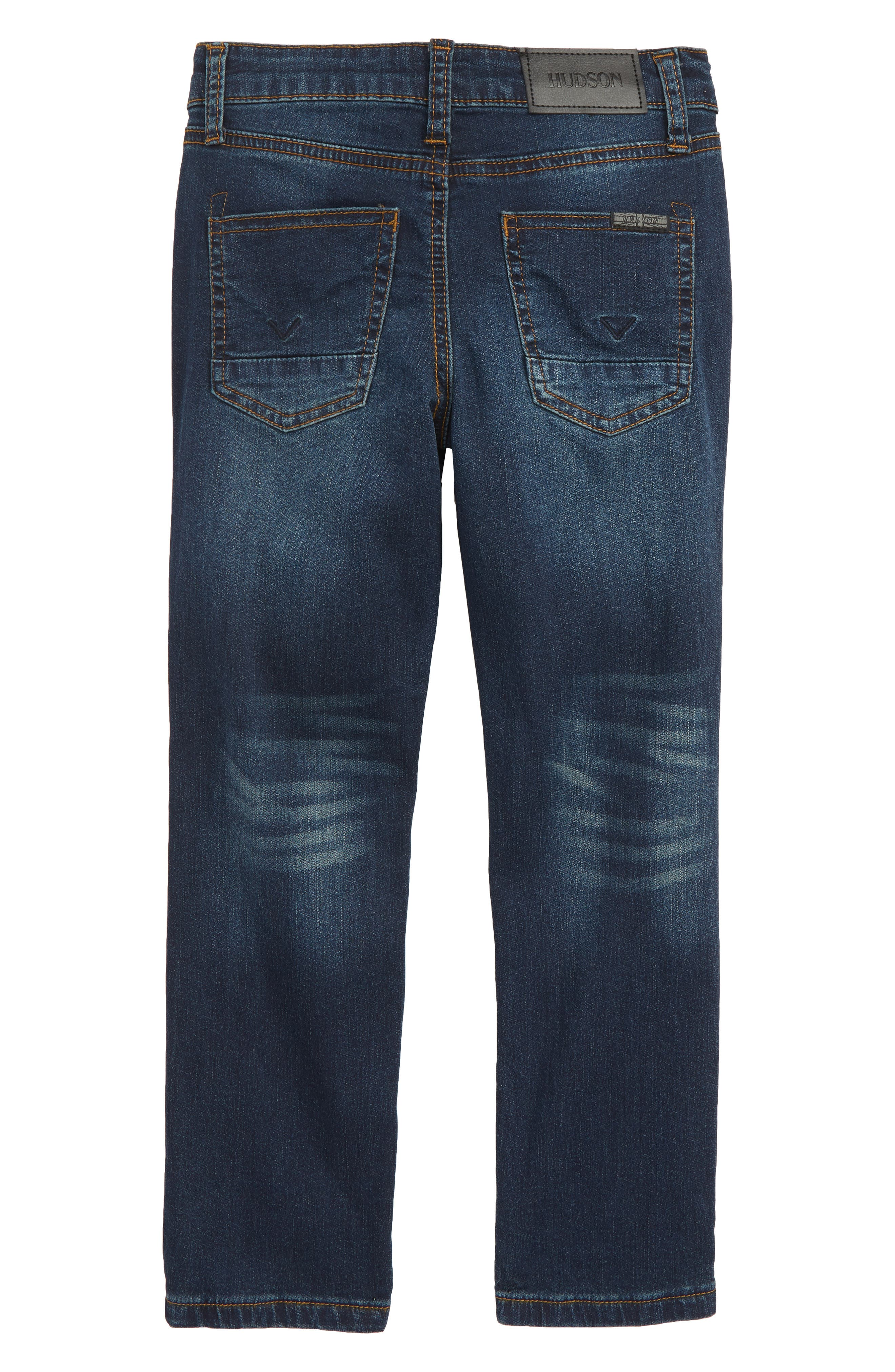 Jagger Slim Fit Straight Leg Jeans,                             Alternate thumbnail 2, color,                             RIPPED RIPEDO