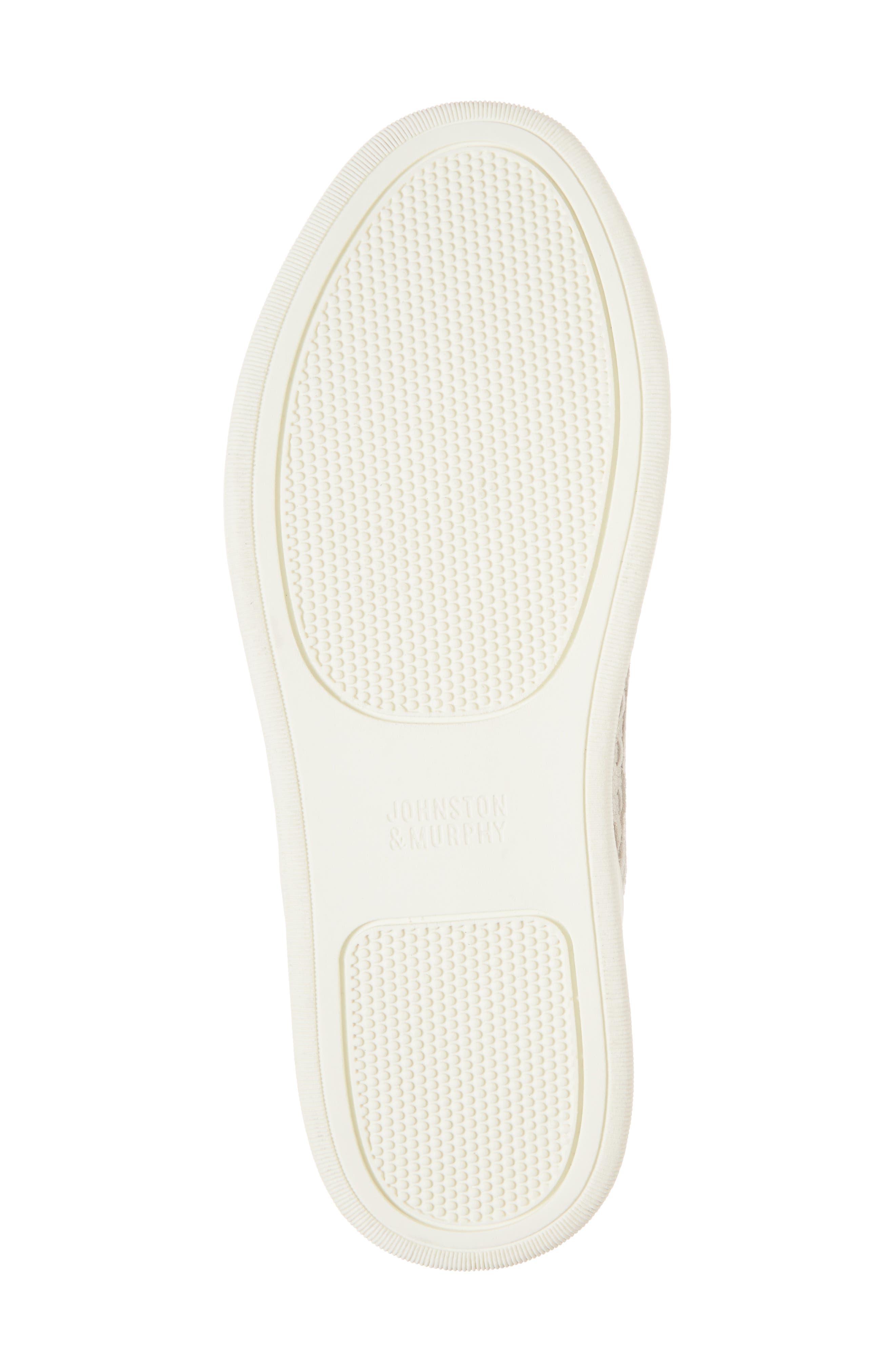 Evie Slip-On Sneaker,                             Alternate thumbnail 6, color,                             ICE LEATHER