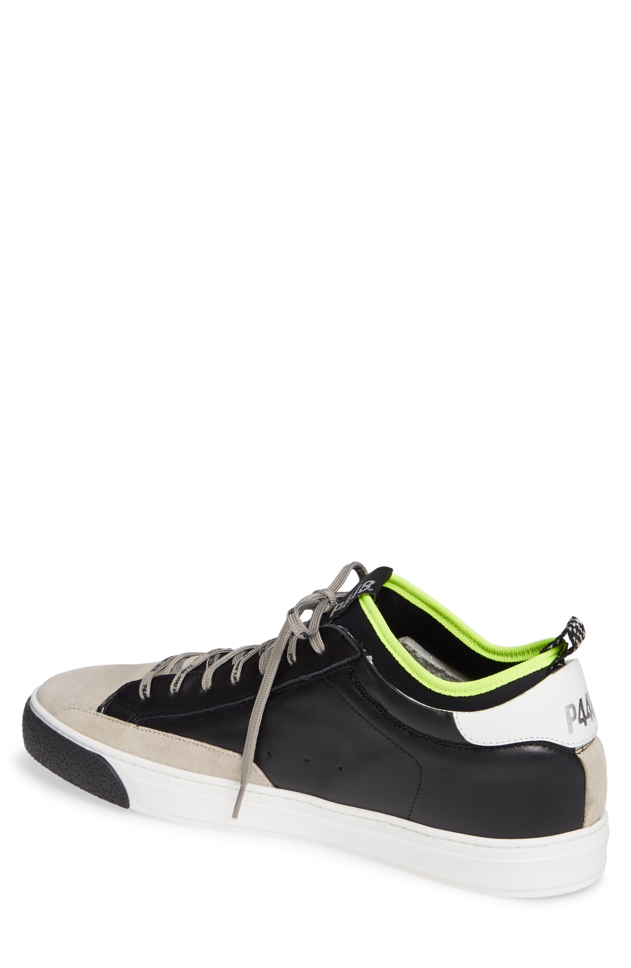 A8miamijsocks Sneaker,                             Alternate thumbnail 2, color,                             BLACK