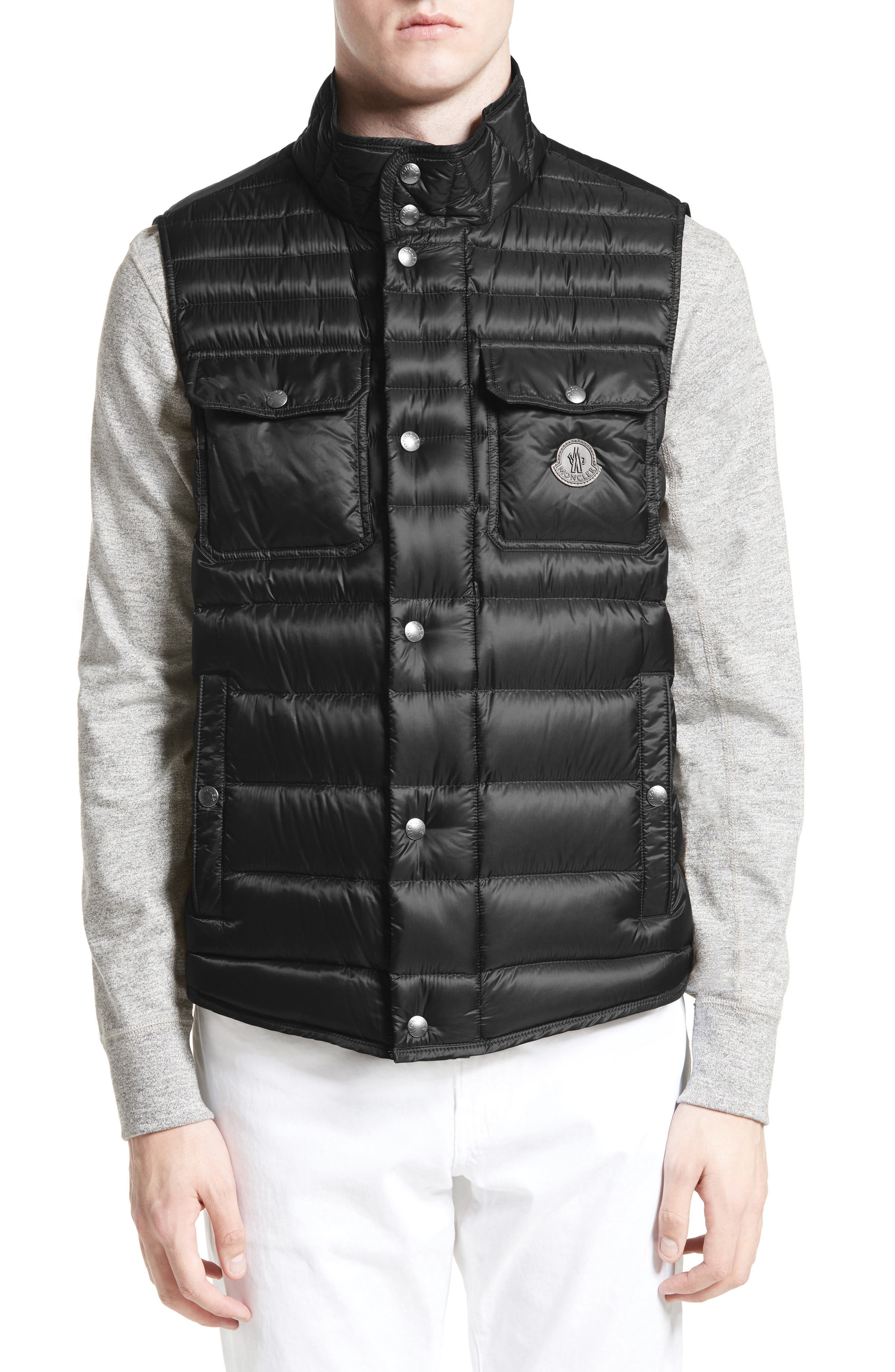 Ever Quilted Vest,                         Main,                         color, 001